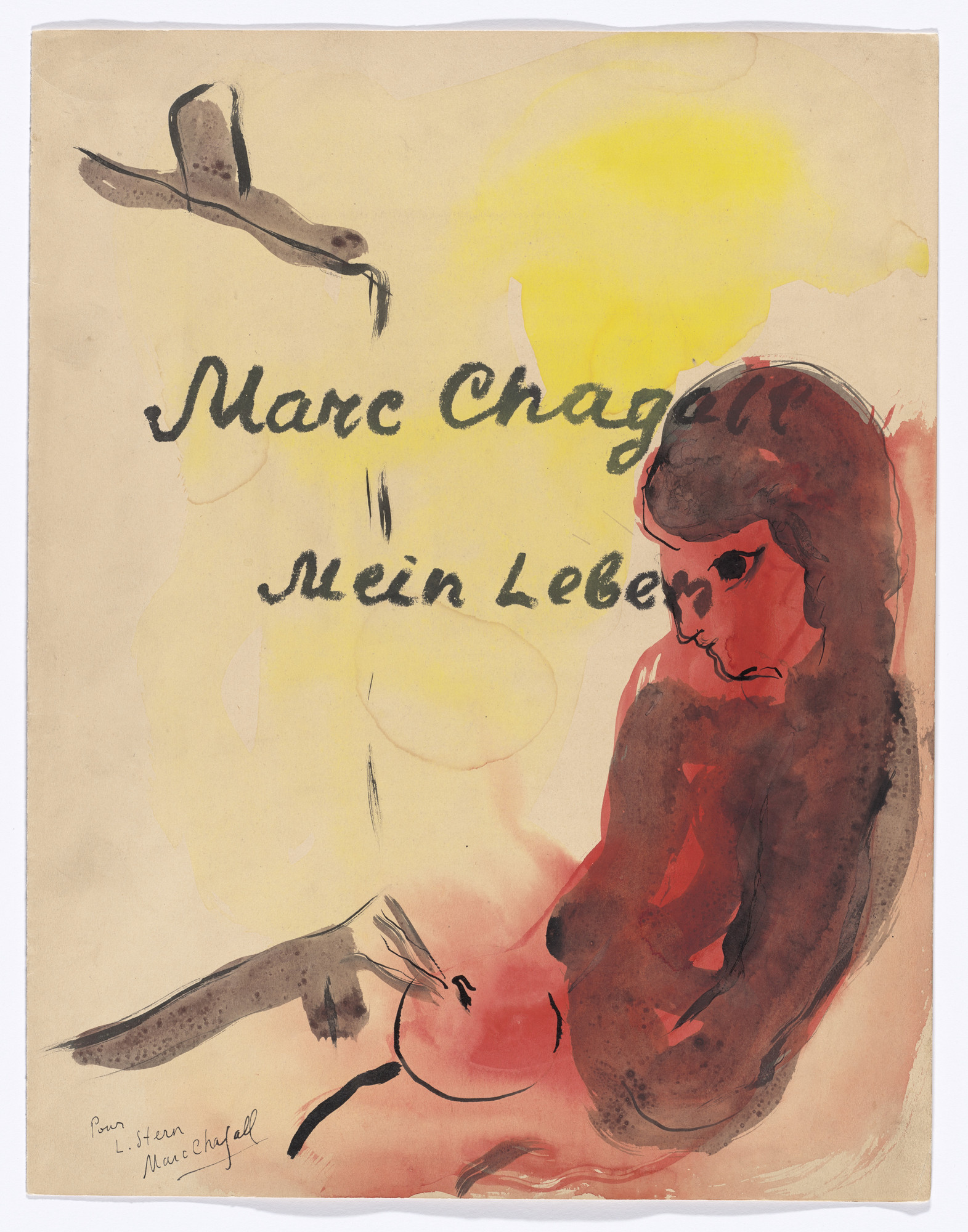 Marc Chagall. My Life (Mein Leben). 1922, published 1923