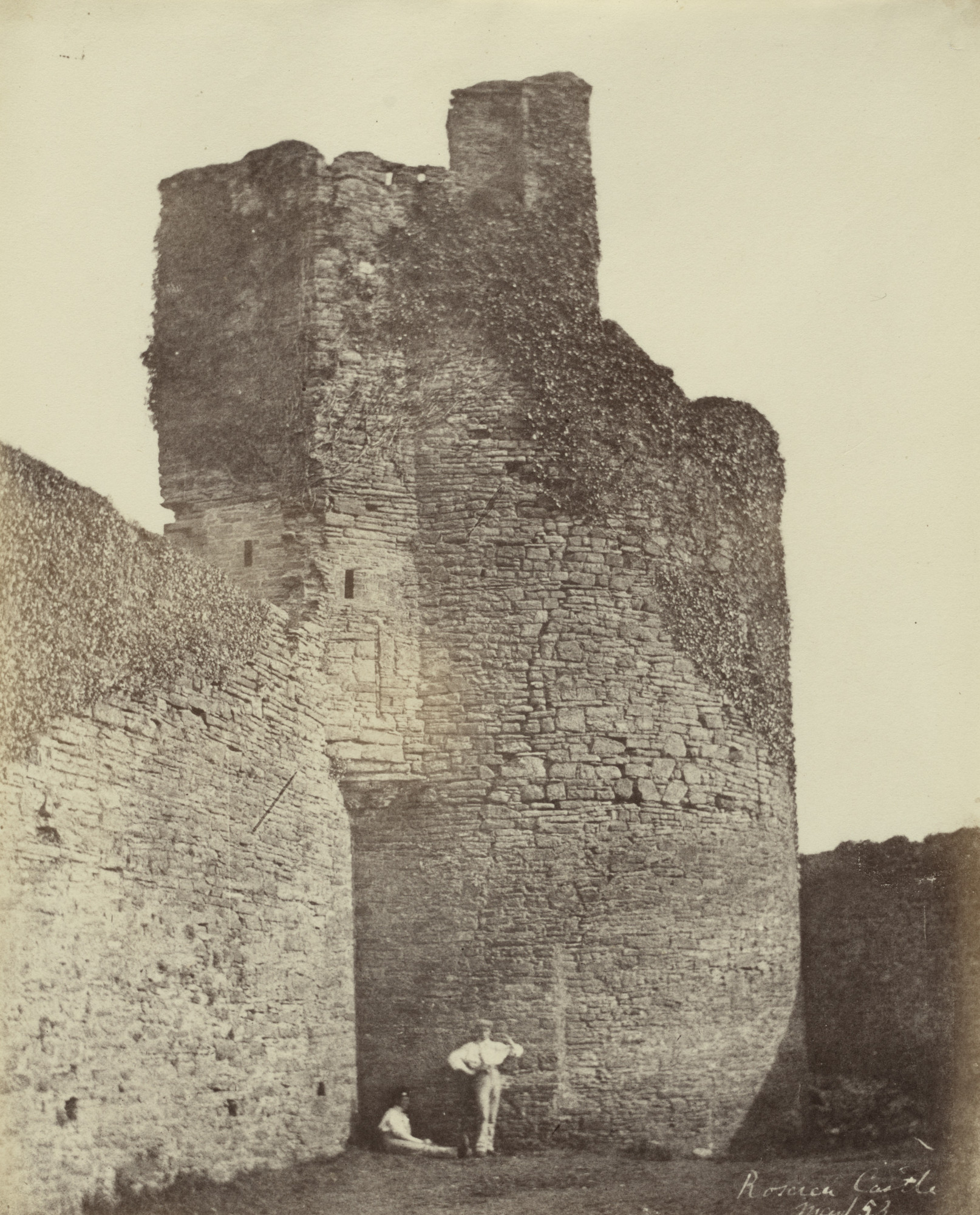 Alfred Capel Cure. Tower of Castle at Roscrea. March 1853