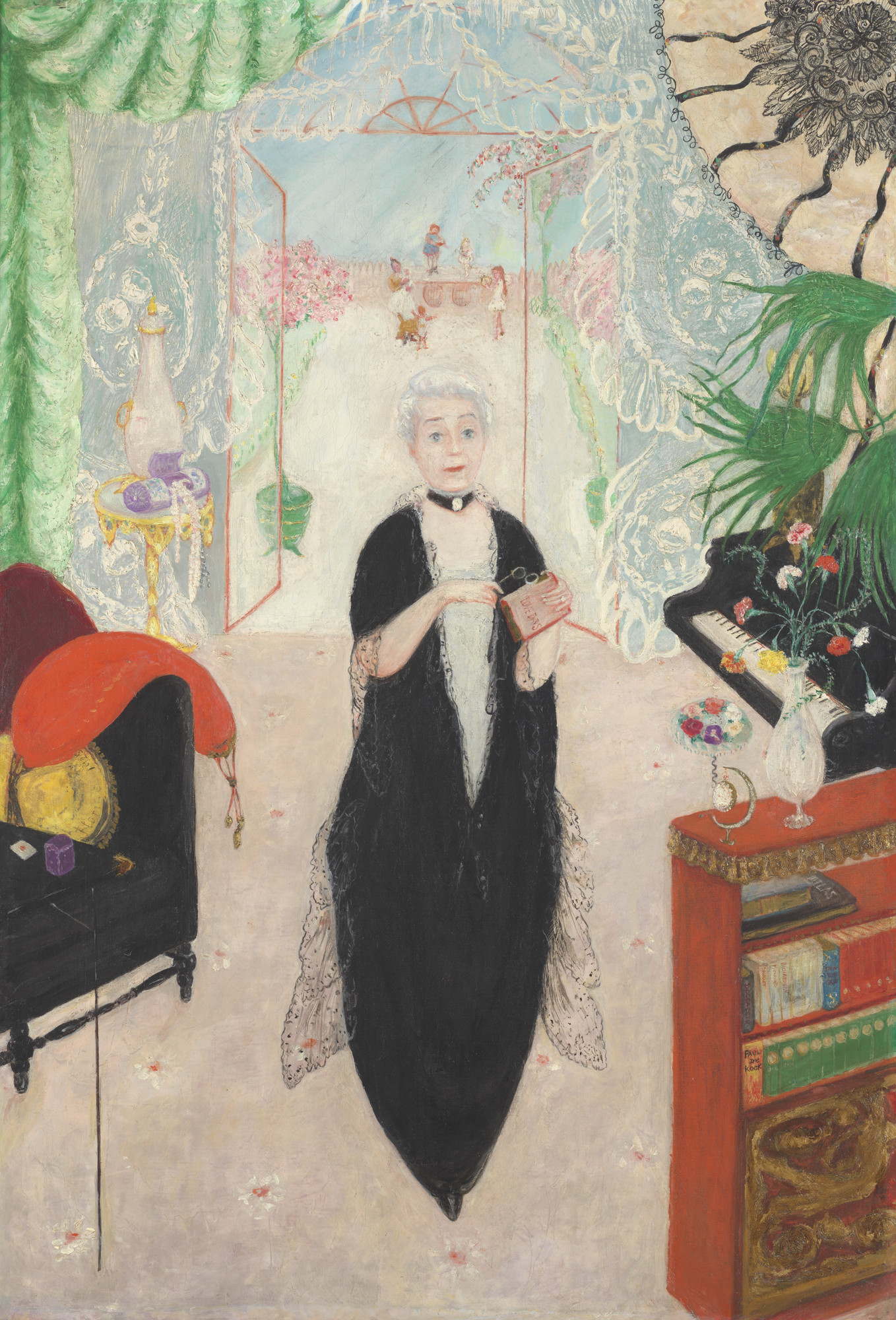 Florine Stettheimer. Portrait of My Mother. 1925