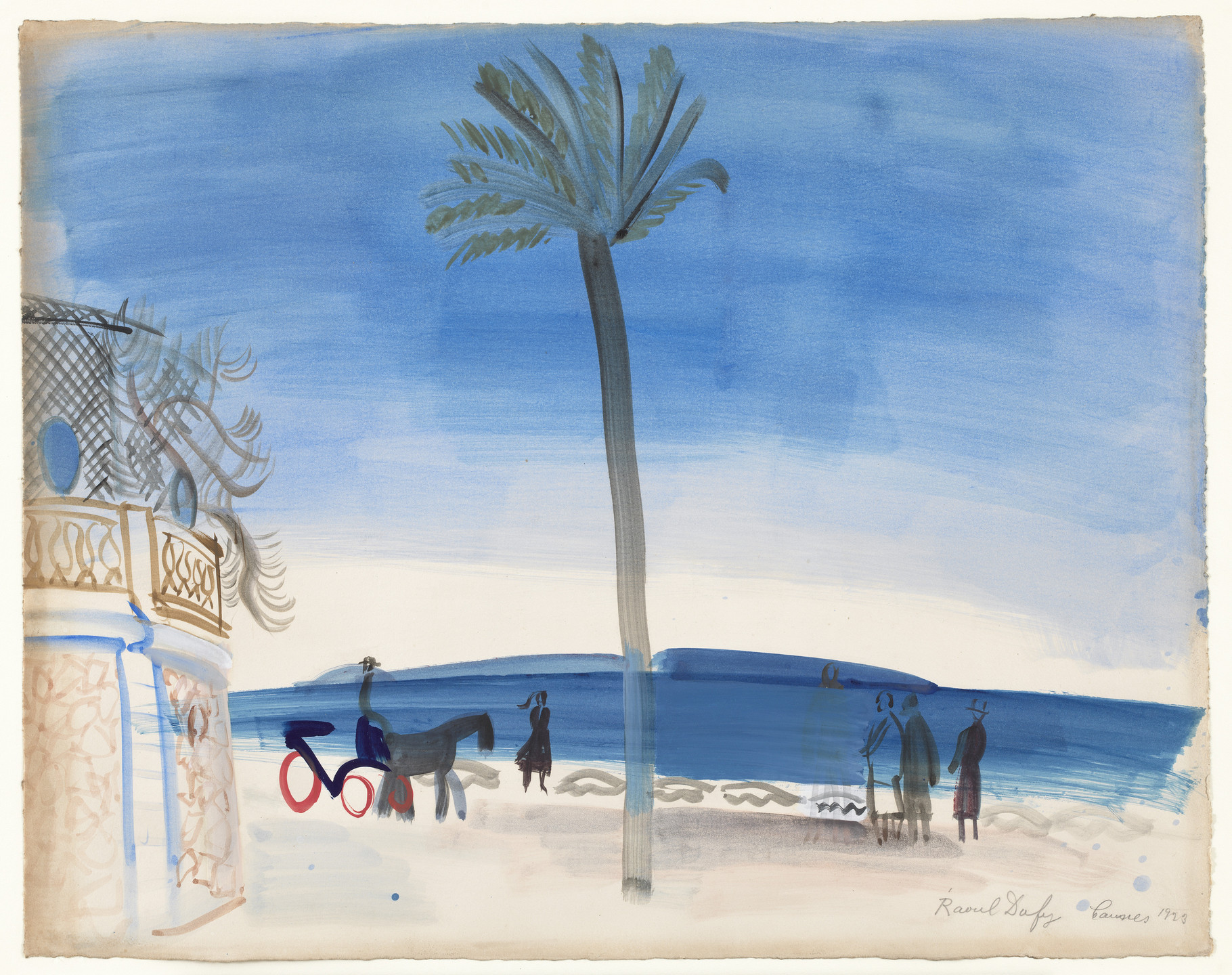 Raoul Dufy. The Palm. 1923