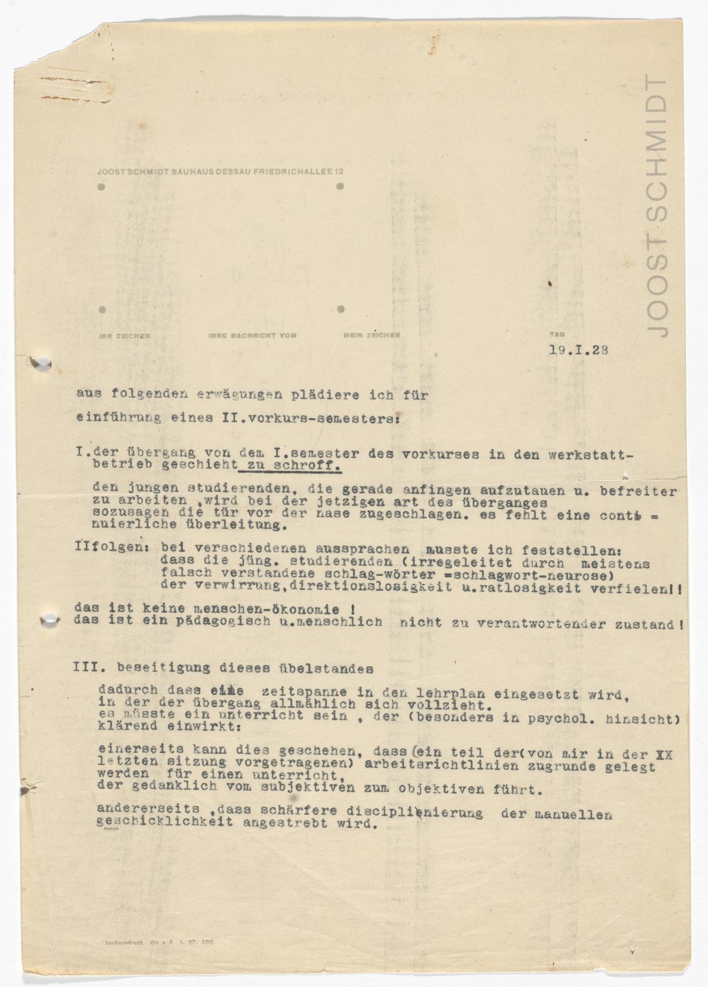 Was Ist Ein Bauhaus joost schmidt joost schmidt bauhaus dessau letterhead 1928 moma