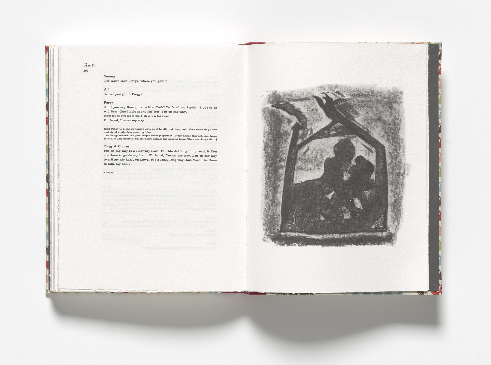 Kara Walker. Porgy, departing, remembers (plate, facing page 102) from Porgy & Bess. 2013
