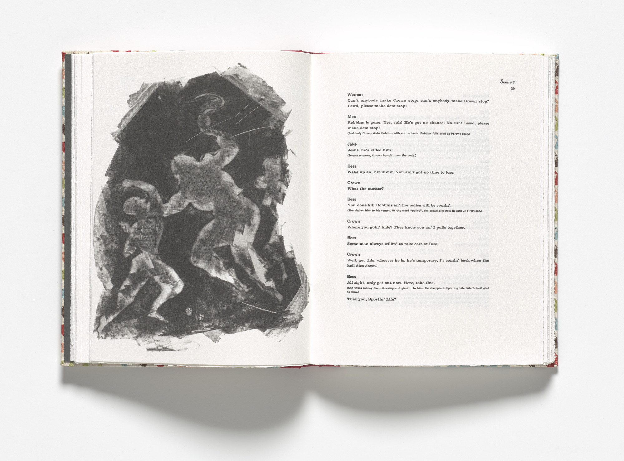 Kara Walker. Crown kills Robbins (plate, facing page 29) from Porgy & Bess. 2013