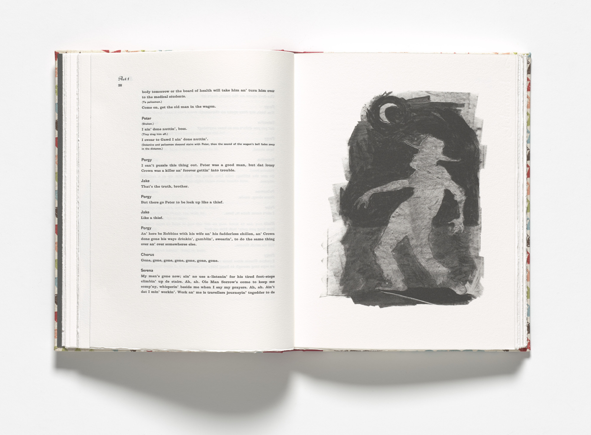 Kara Walker. Porgy and moon (plate, facing page 38) from Porgy & Bess. 2013