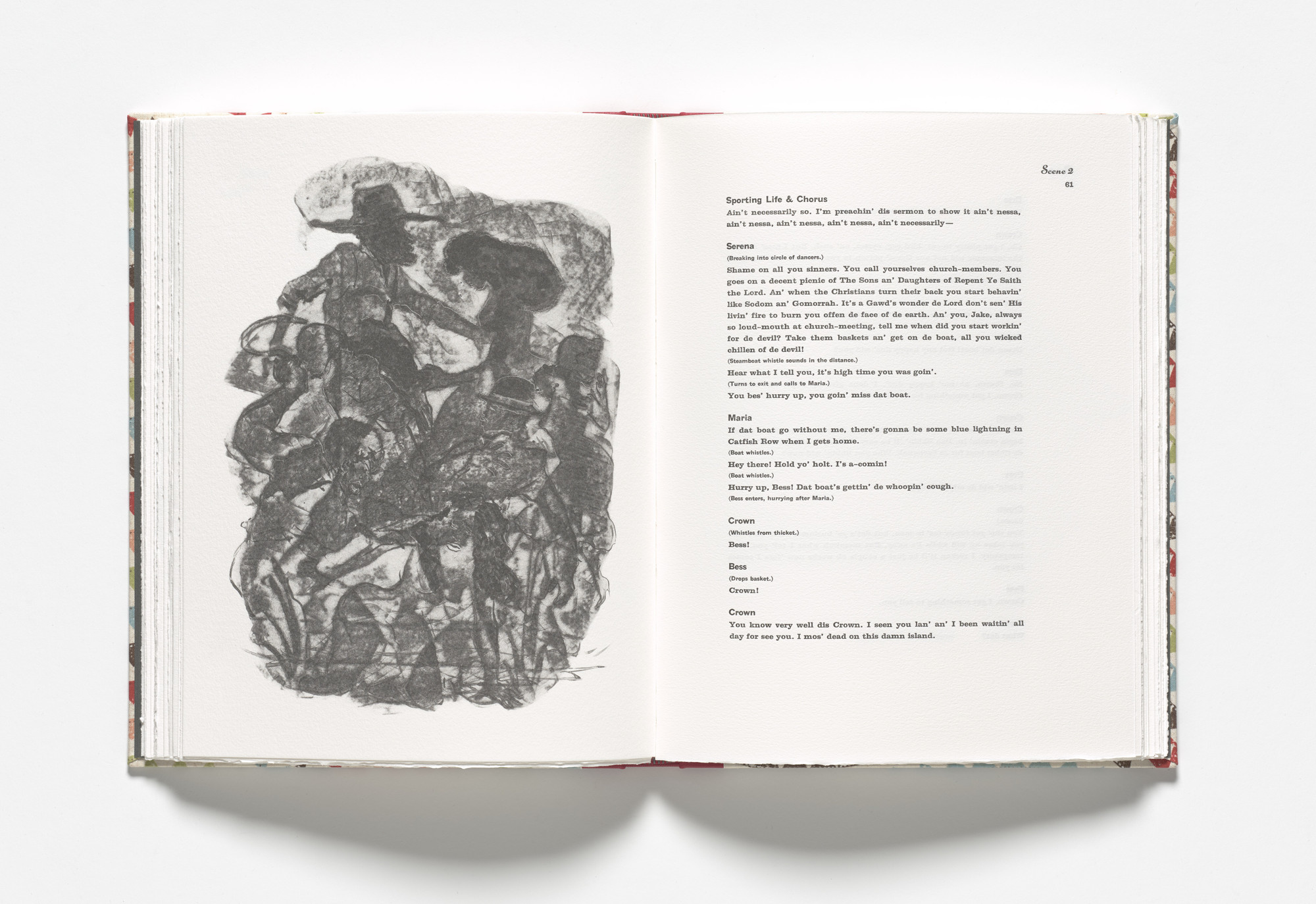Kara Walker. The dance (plate, facing page 61) from Porgy & Bess. 2013