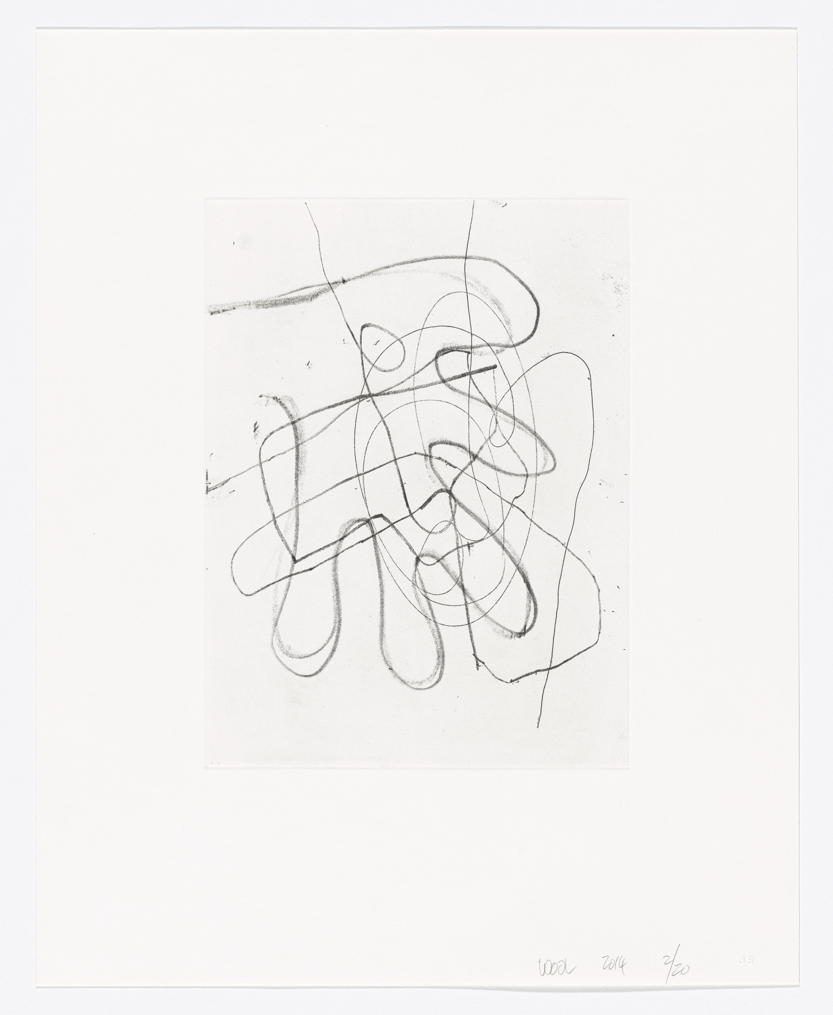 Christopher Wool. Untitled. 2014