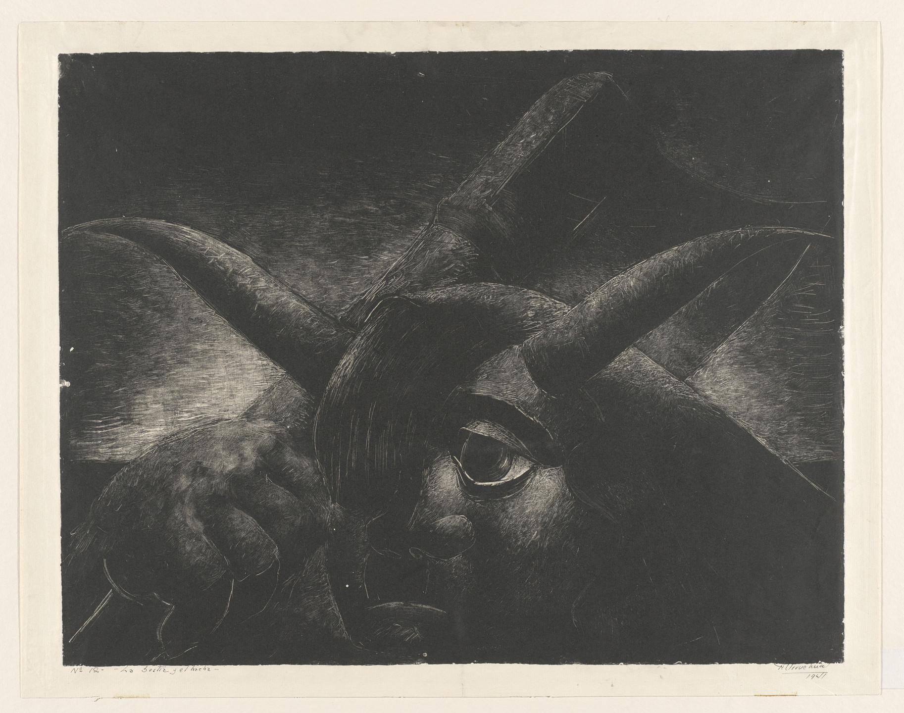 Demetrio Urruchúa. The Beast and the Axe (La Bestia y el hacha). 1941