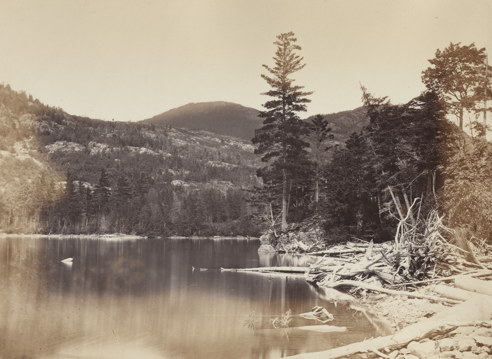 Alexander Henderson. Orford Mountain and Lake. 1865
