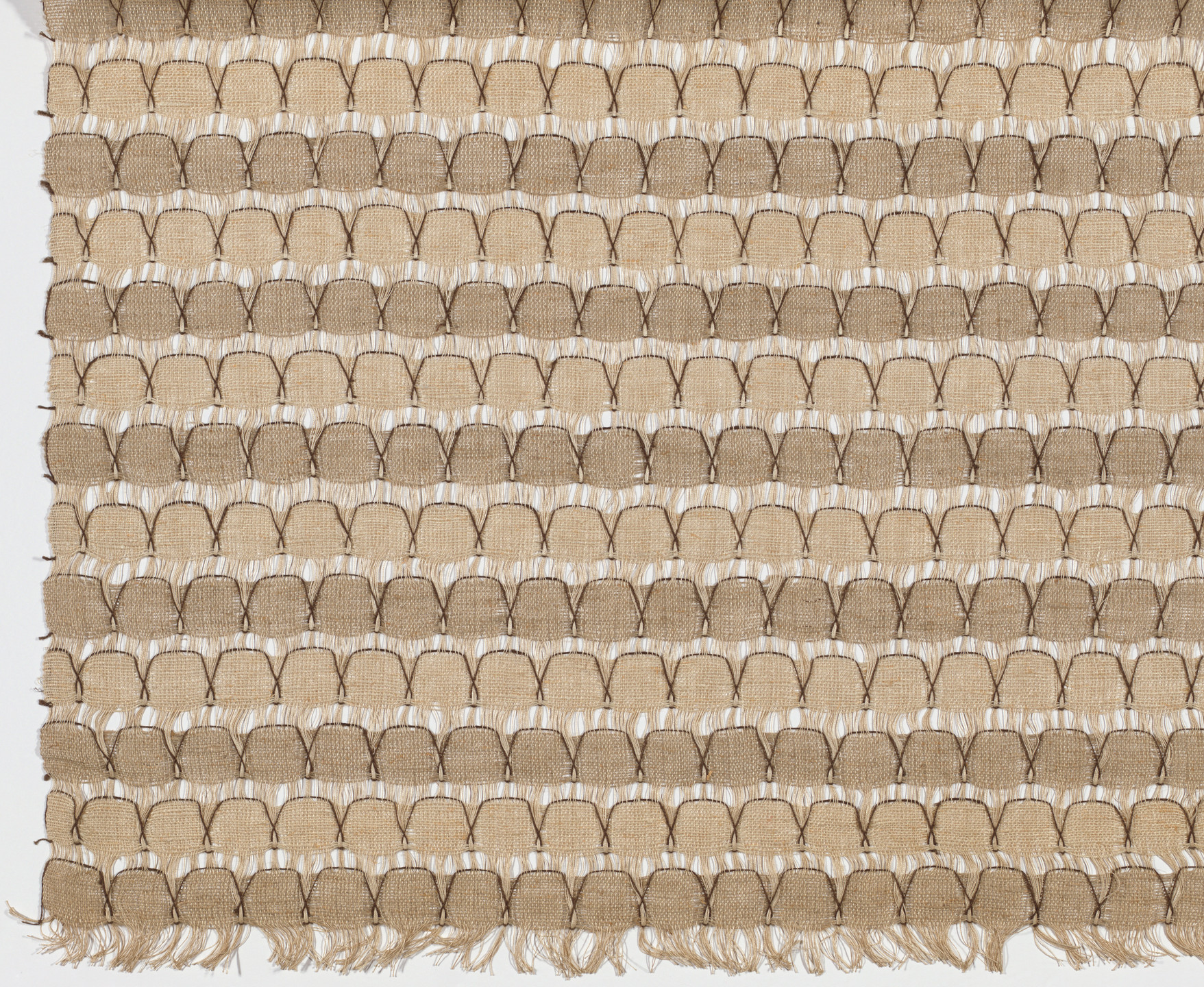 Roy Ginstrom. Scallops Screen and Casement Fabric. c. 1955