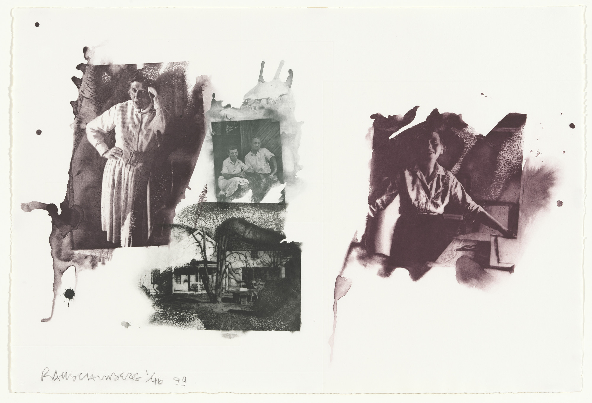 Robert Rauschenberg. Tanya from Ruminations. 1999