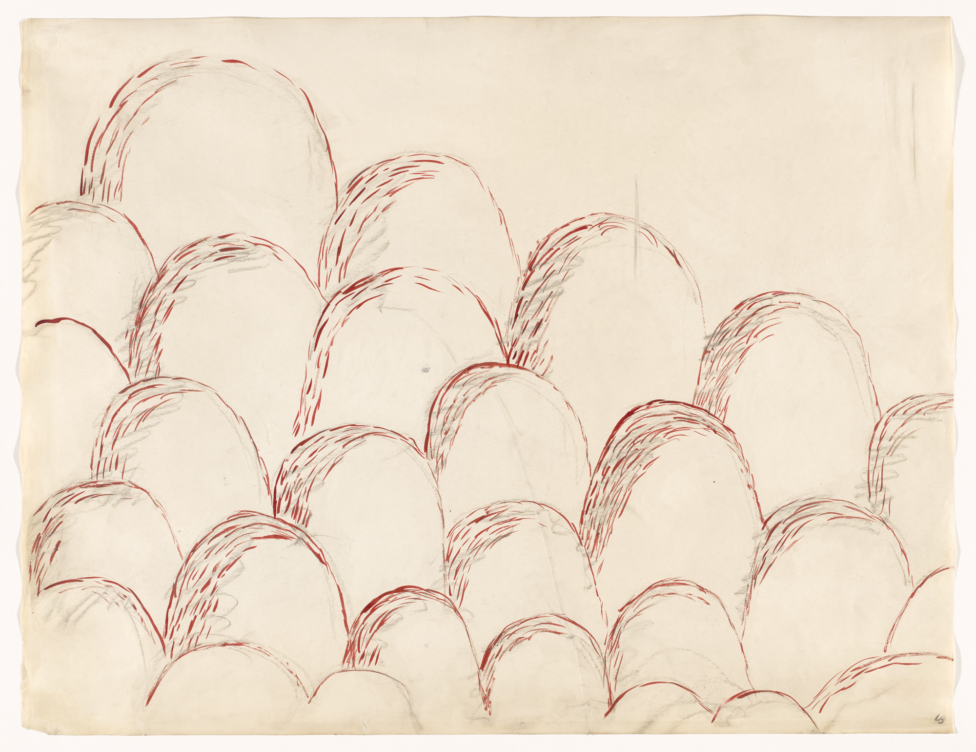 Louise Bourgeois. Cumuls. 1970
