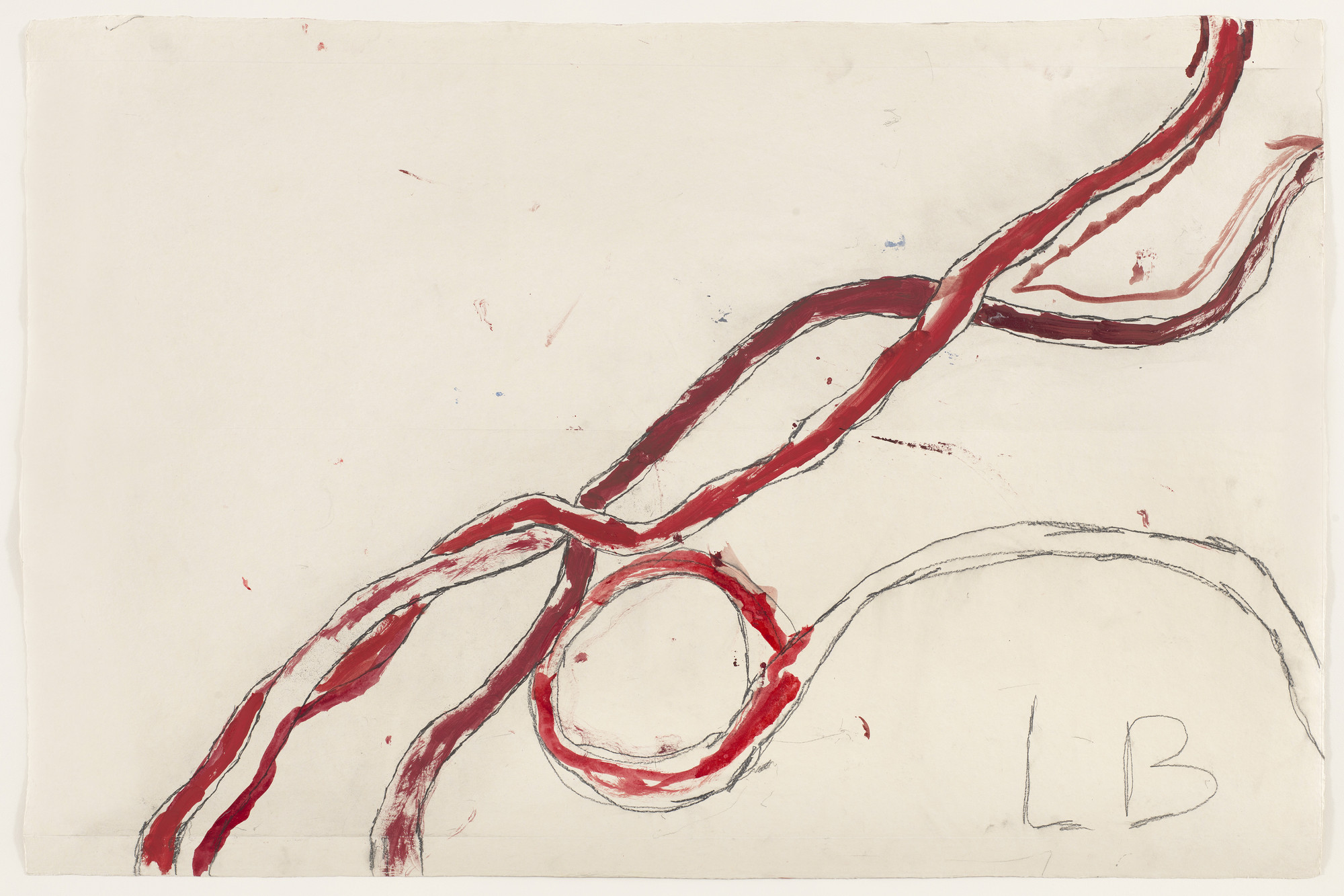 Louise Bourgeois. Untitled, no. 6 of 14, from À l'Infini (set 1). 2008