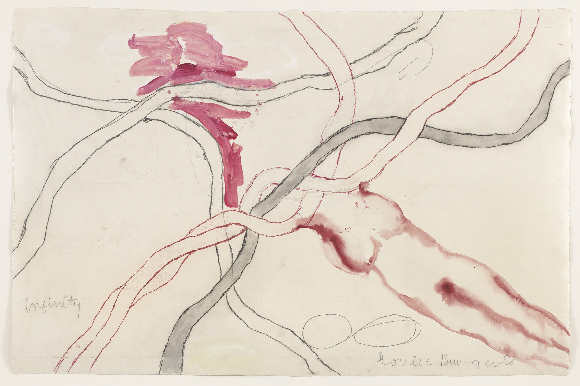 Louise Bourgeois. Untitled, no. 5 of 14, from À l'Infini (set 1). 2008