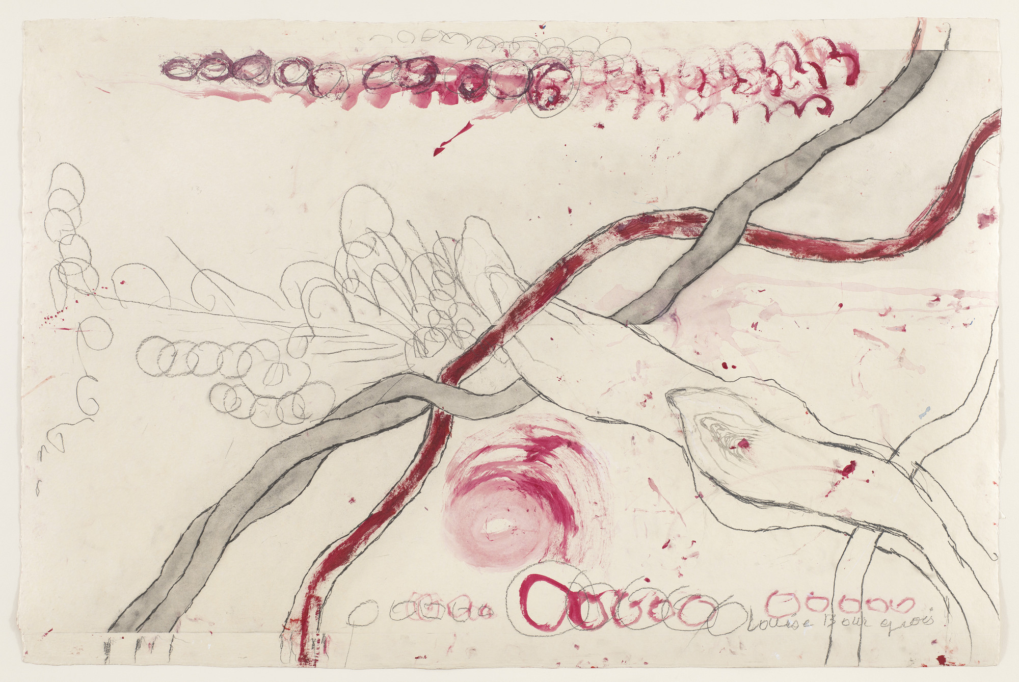 Louise Bourgeois. Untitled, no. 7 of 14, from À l'Infini (set 1). 2008