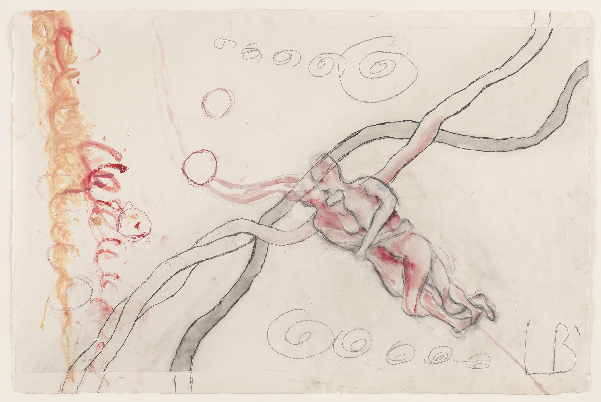 Louise Bourgeois. Untitled, no. 11 of 14, from À l'Infini (set 1). 2008