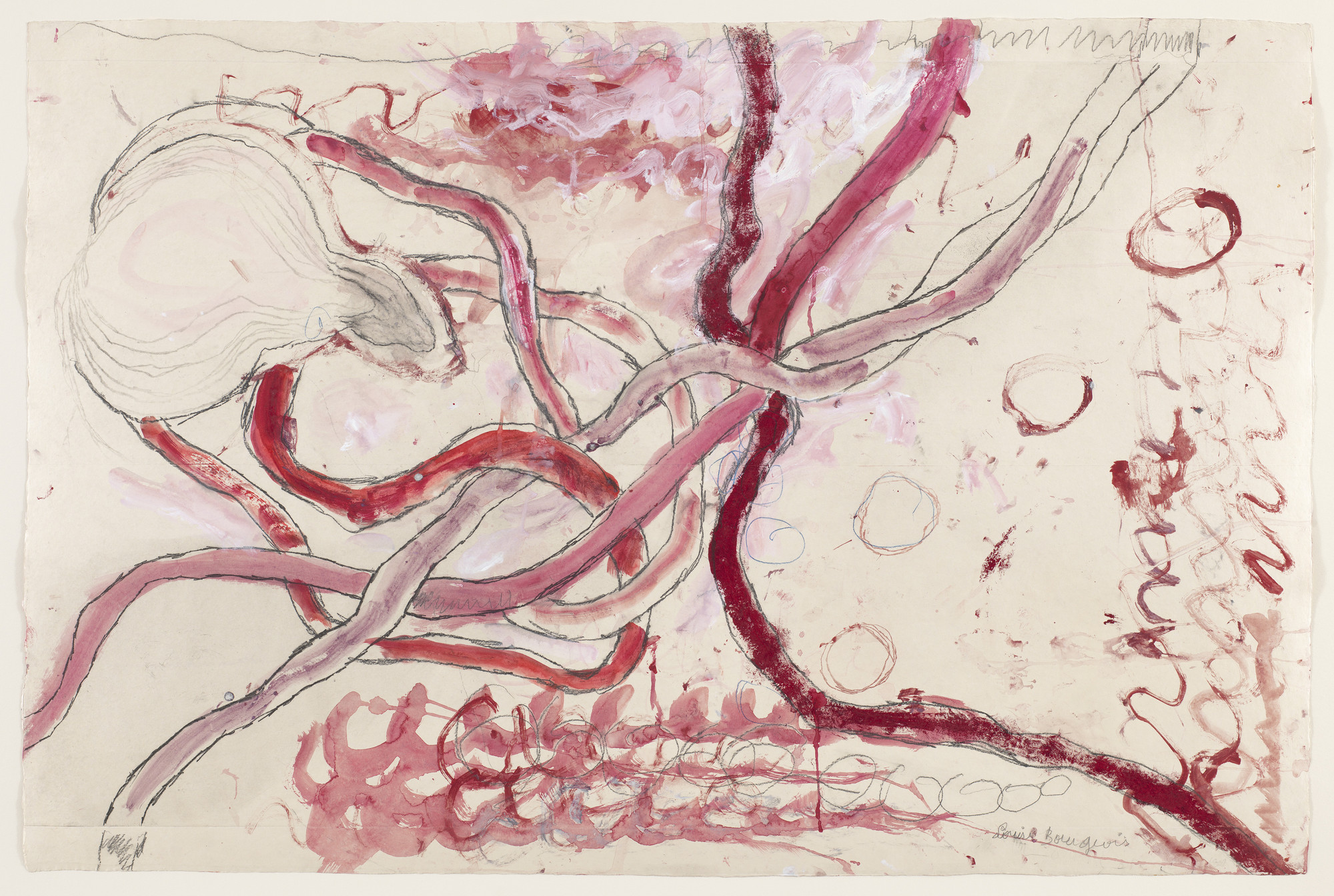 Louise Bourgeois. Untitled, no. 13 of 14, from À l'Infini (set 1). 2008