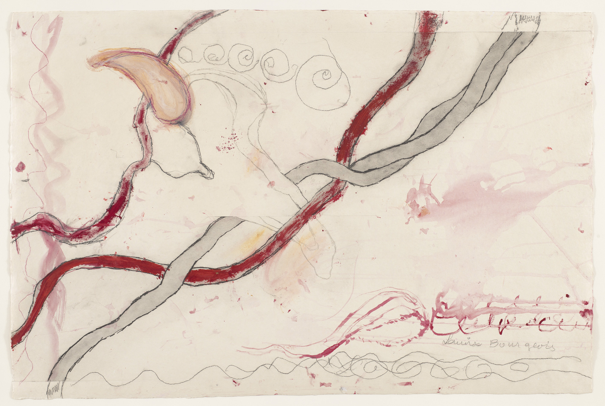 Louise Bourgeois. Untitled, no. 2 of 14, from À l'Infini (set 1). 2008
