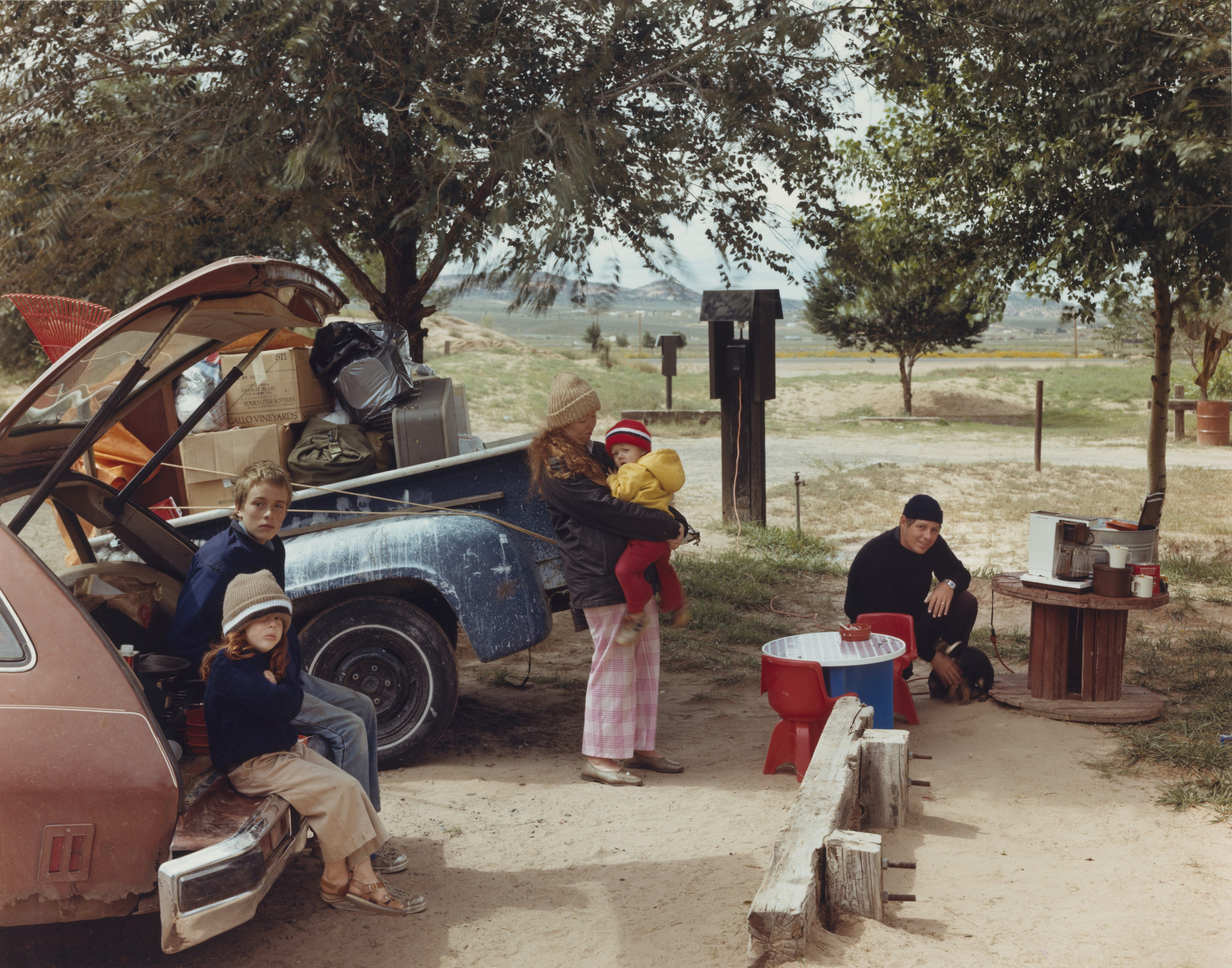 Joel Sternfeld. Red Rock State Campground, Gallup, New Mexico ...
