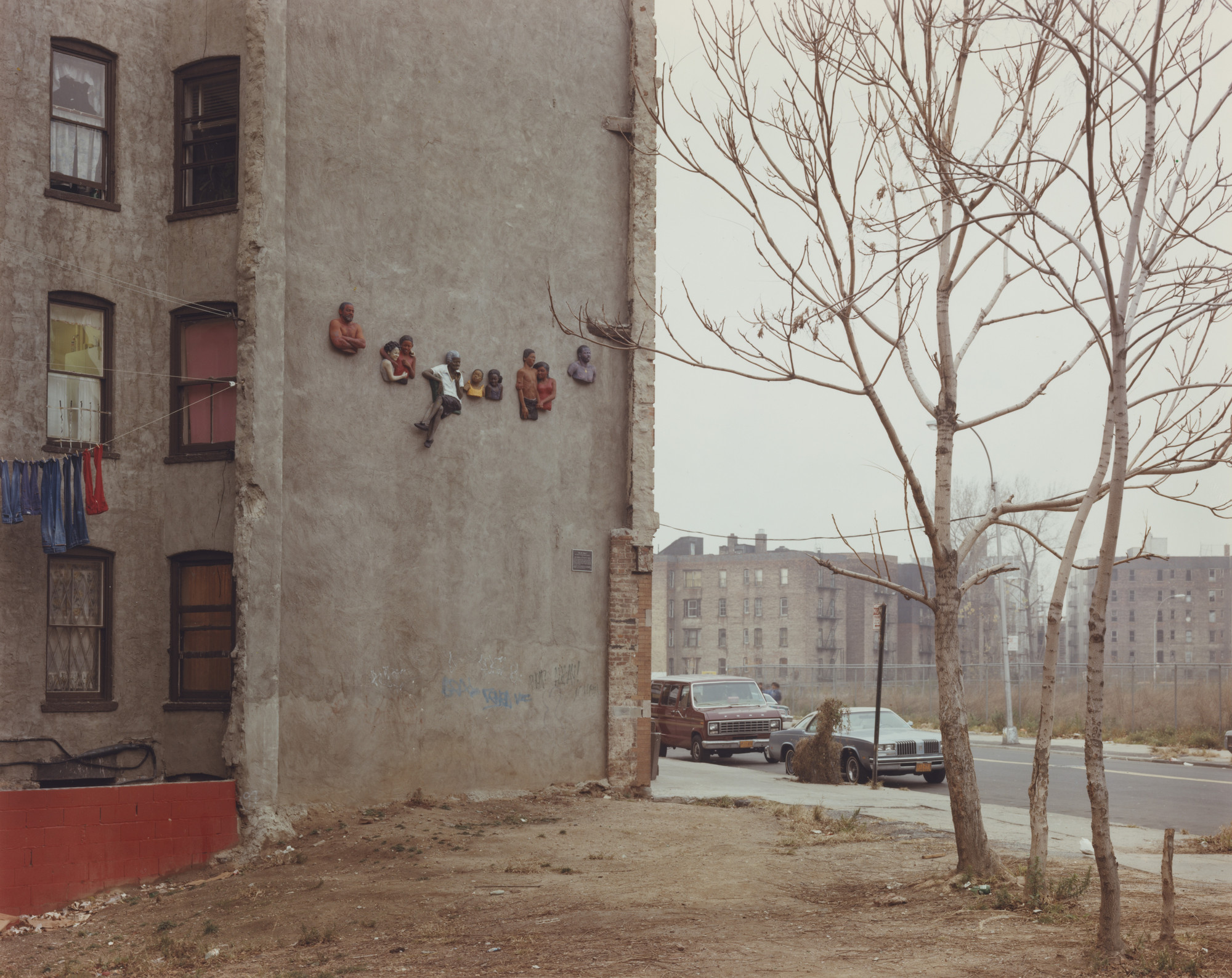Joel Sternfeld. The Bronx, New York. November 1982