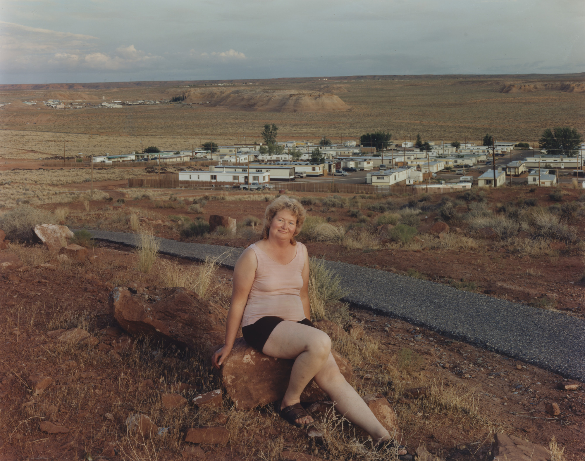 Joel Sternfeld. Page, Arizona. August 1983
