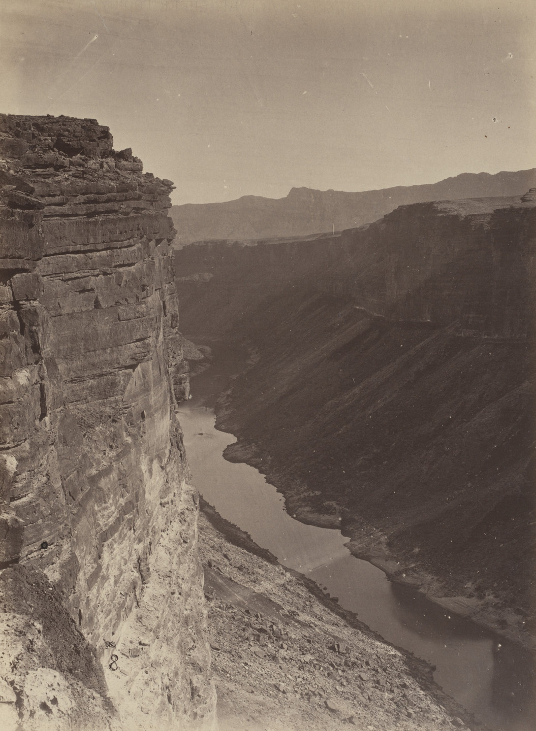 Timothy O'Sullivan, William H. Bell. Grand Canyon, Colorado River, Near Paria Creek, Looking East. Seasons of 1871, 1872 and 1873