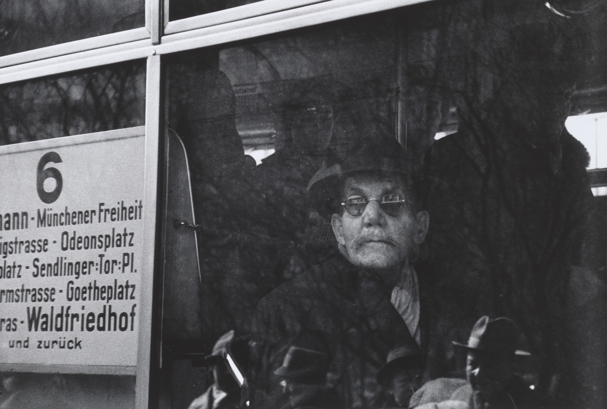 René Burri. Untitled from the series the Germans. 1962