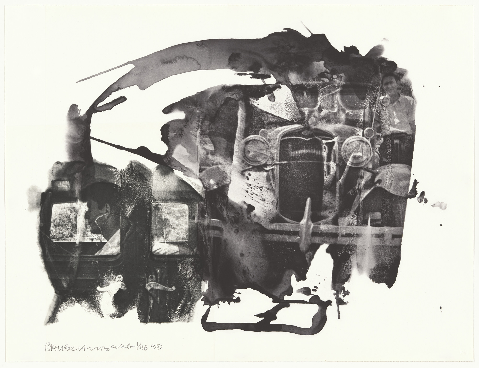 Robert Rauschenberg. John from Ruminations. 1999