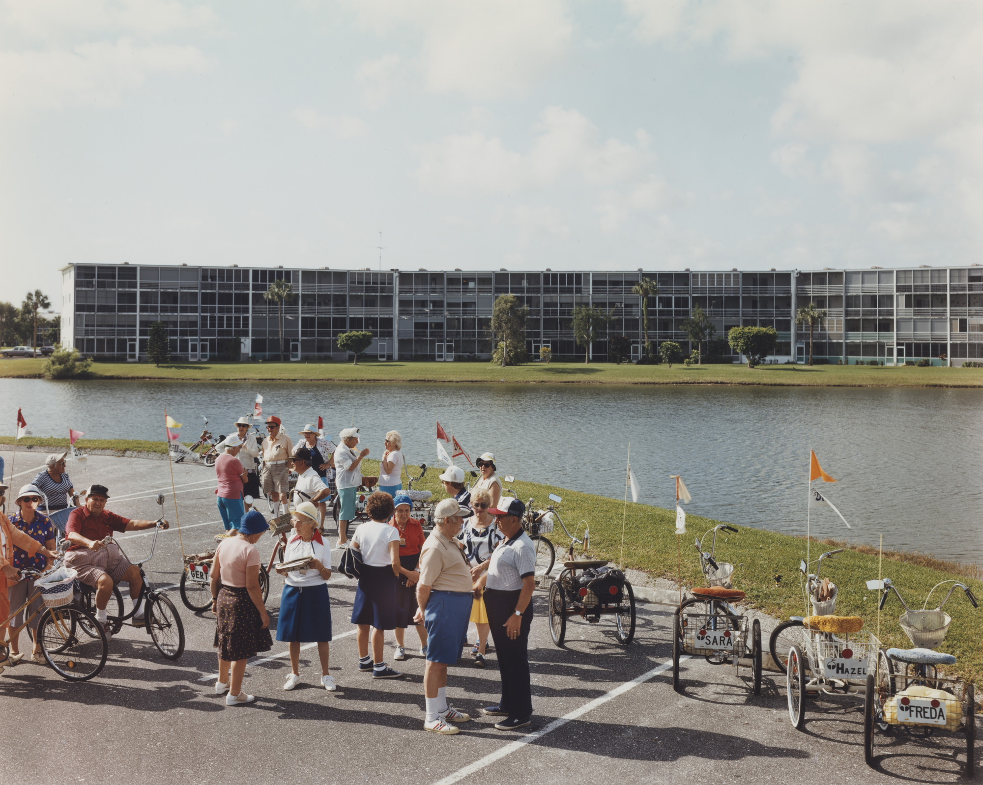 Joel Sternfeld Bike N Trike Club Century Village West Palm Beach Florida April 1983