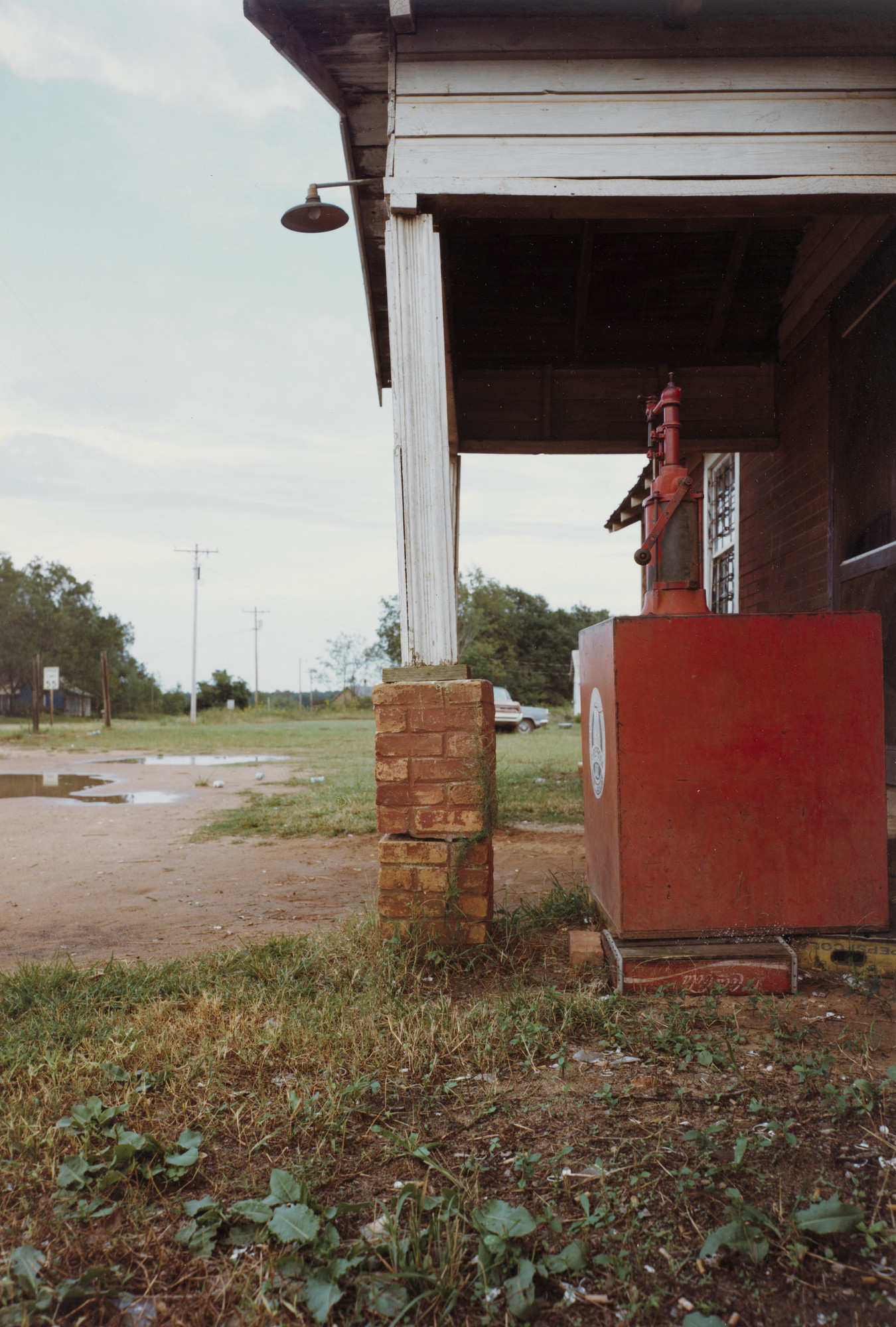 William Eggleston. South Edge of Plains, Georgia. 1976