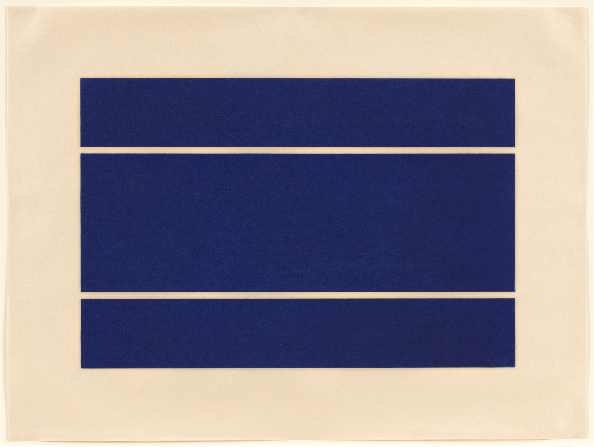 Donald Judd. Untitled from an untitled portfolio. 1988