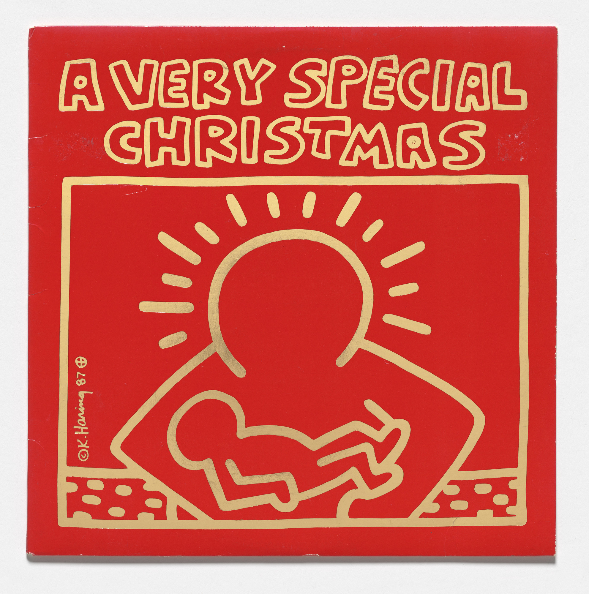 Various Artists, Keith Haring. A Very Special Christmas. 1987