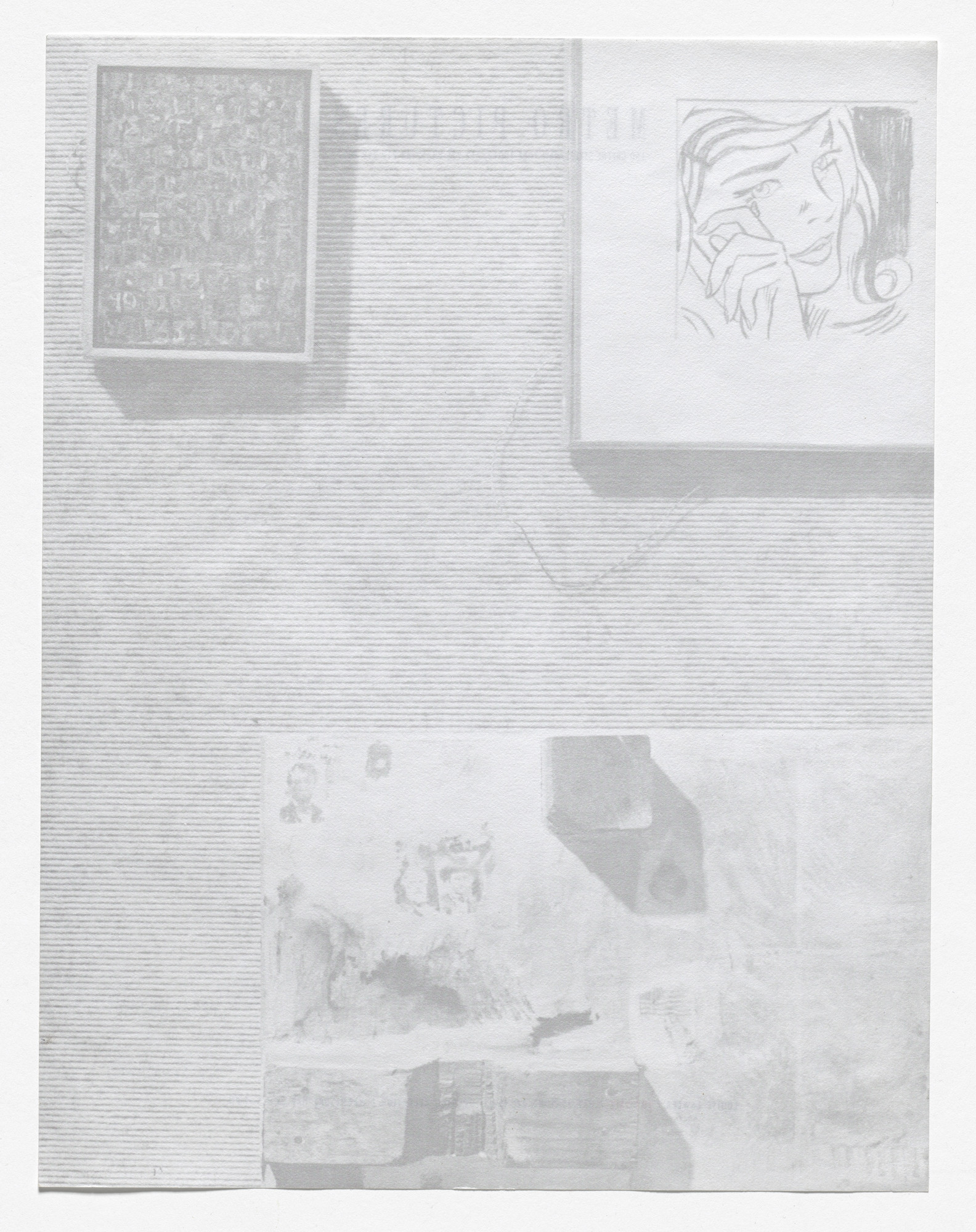 Louise Lawler. Stationery for For Sale, Metro Pictures, New York, May 25–June 22, 1991. 1991