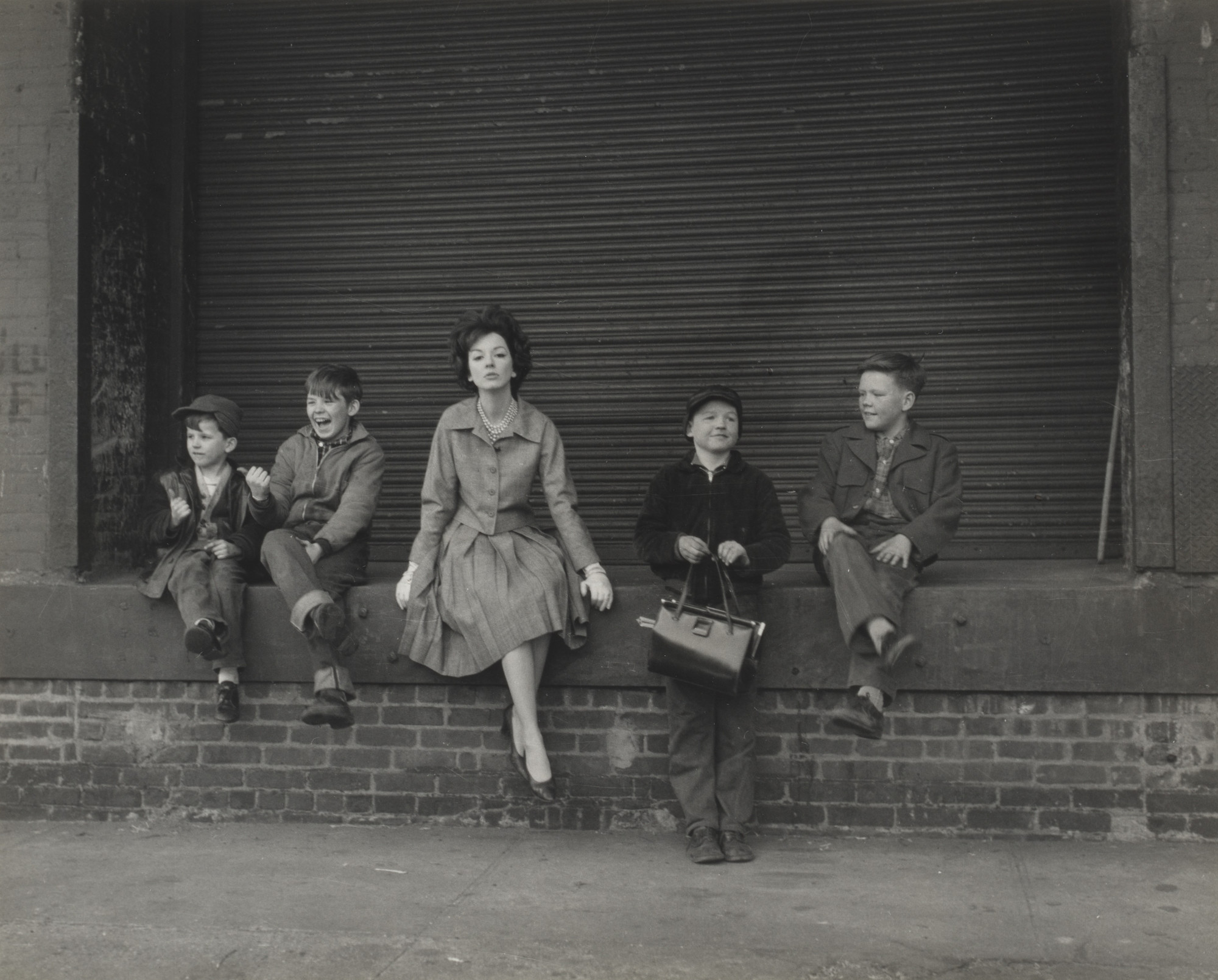 Lida Moser. Judy and Four Boys. 1961