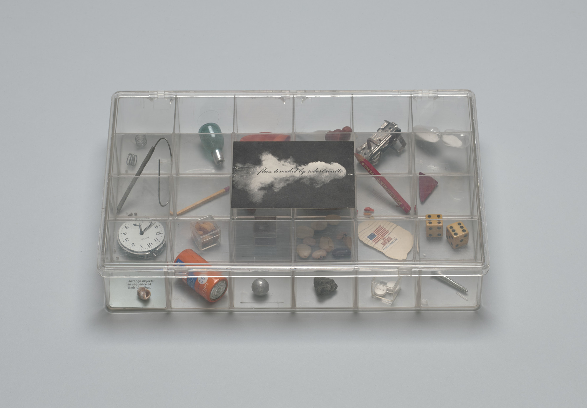 Robert Watts. Flux Timekit. 1978