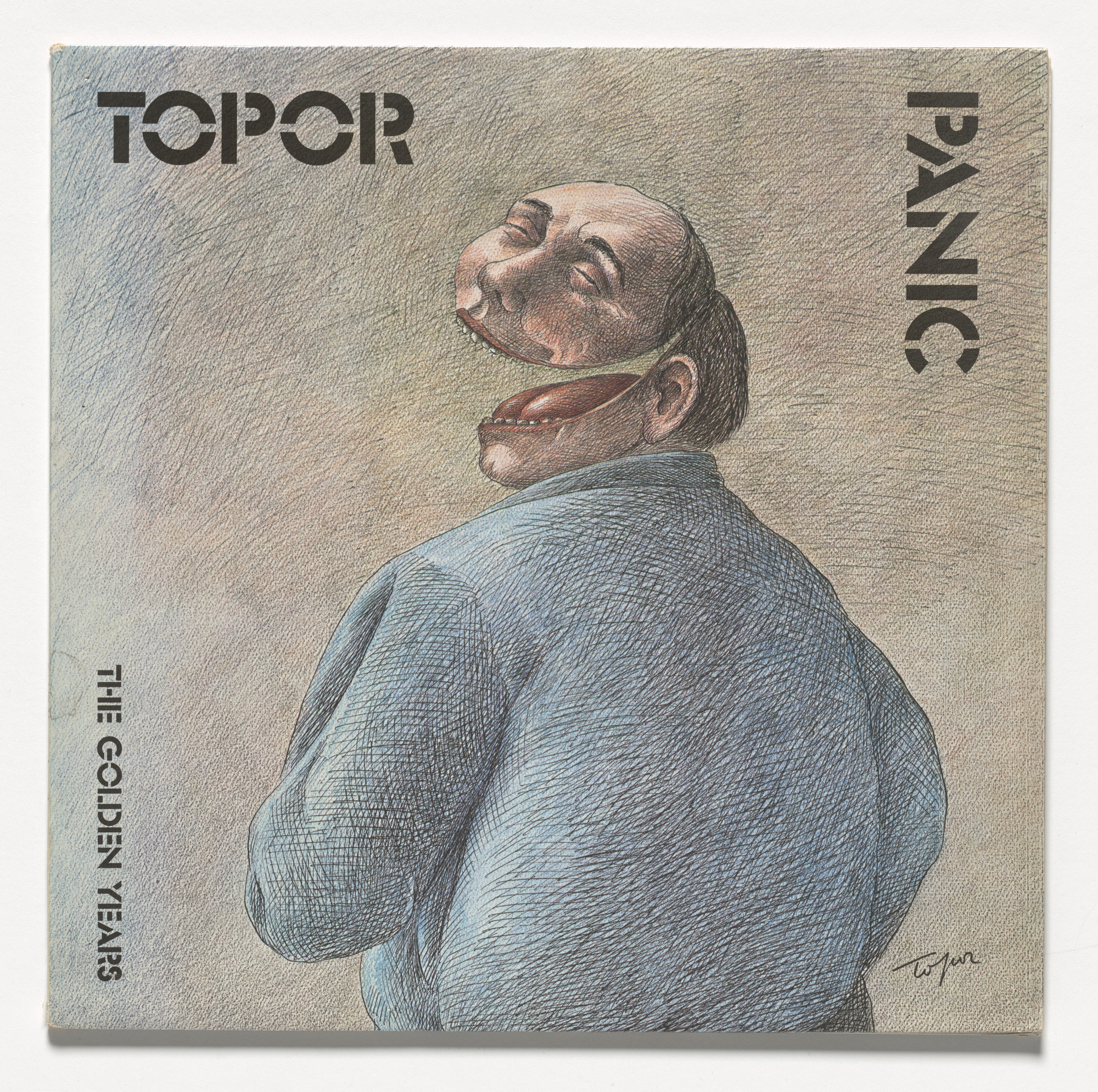 Roland Topor. Panic (The Golden Years). 1975