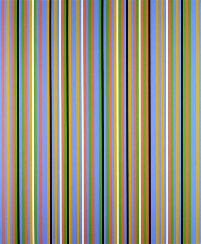 Bridget Riley. Blue About. 1983/2002