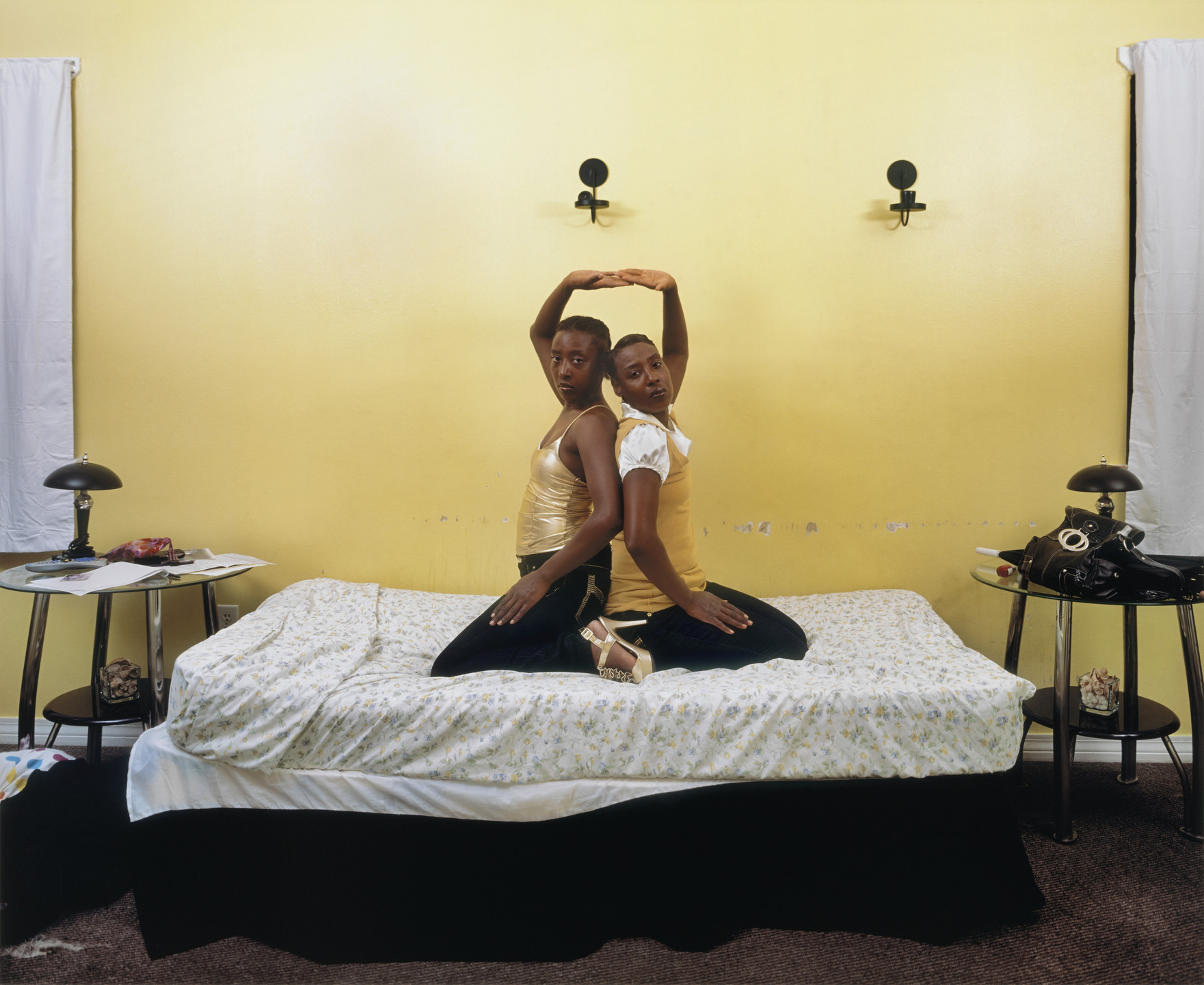 Deana Lawson. Roxie and Raquel, New Orleans, Louisiana. 2010