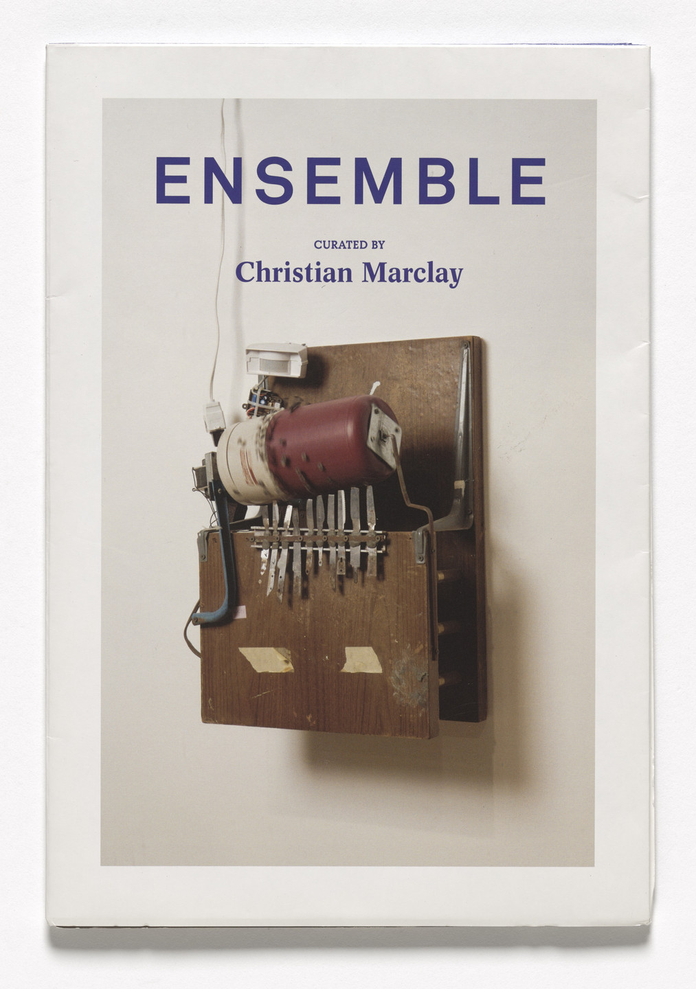 Various Artists. ENSEMBLE, Curated by Christian Marclay. 2008