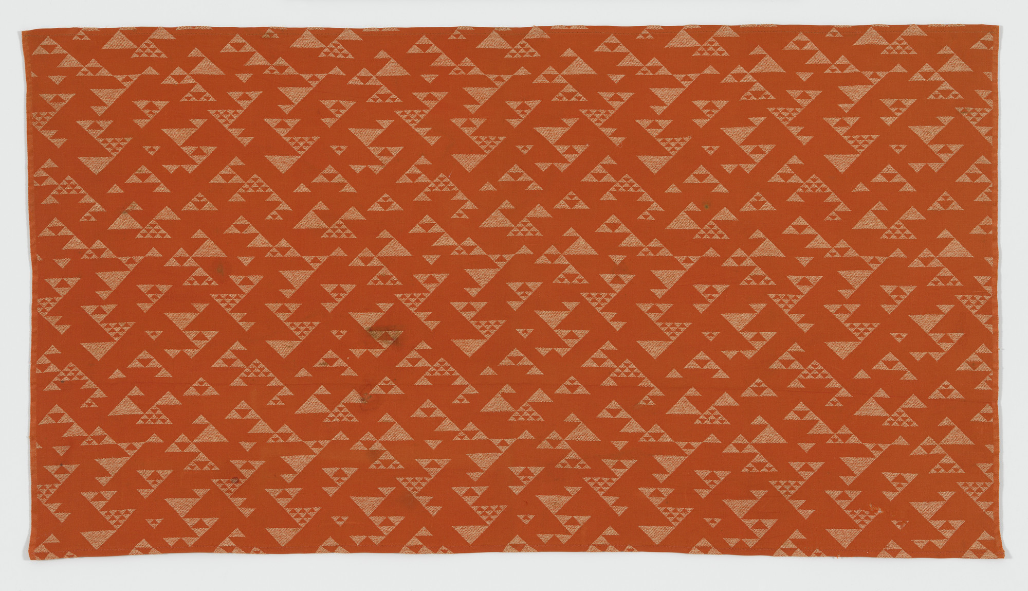 Frank Lloyd Wright. Upholstery fabric from the Imperial Hotel, Tokyo, Japan. 1913–1923