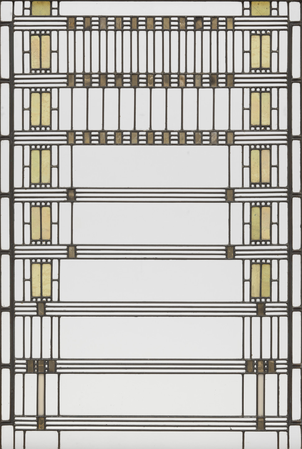 Frank Lloyd Wright. Darwin D. Martin House, Buffalo, NY, Window, 1904. 1903–1906