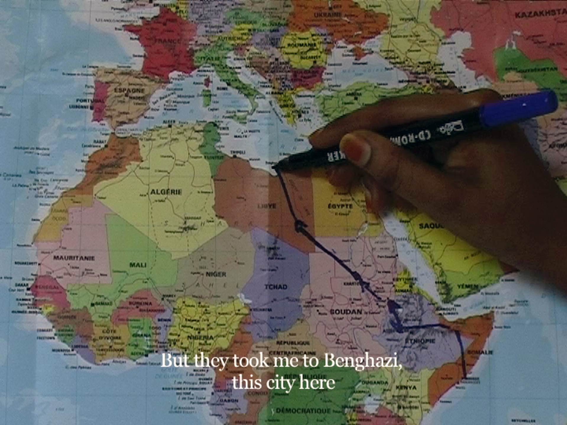 Bouchra Khalili. The Mapping Journey Project. 2008-2011