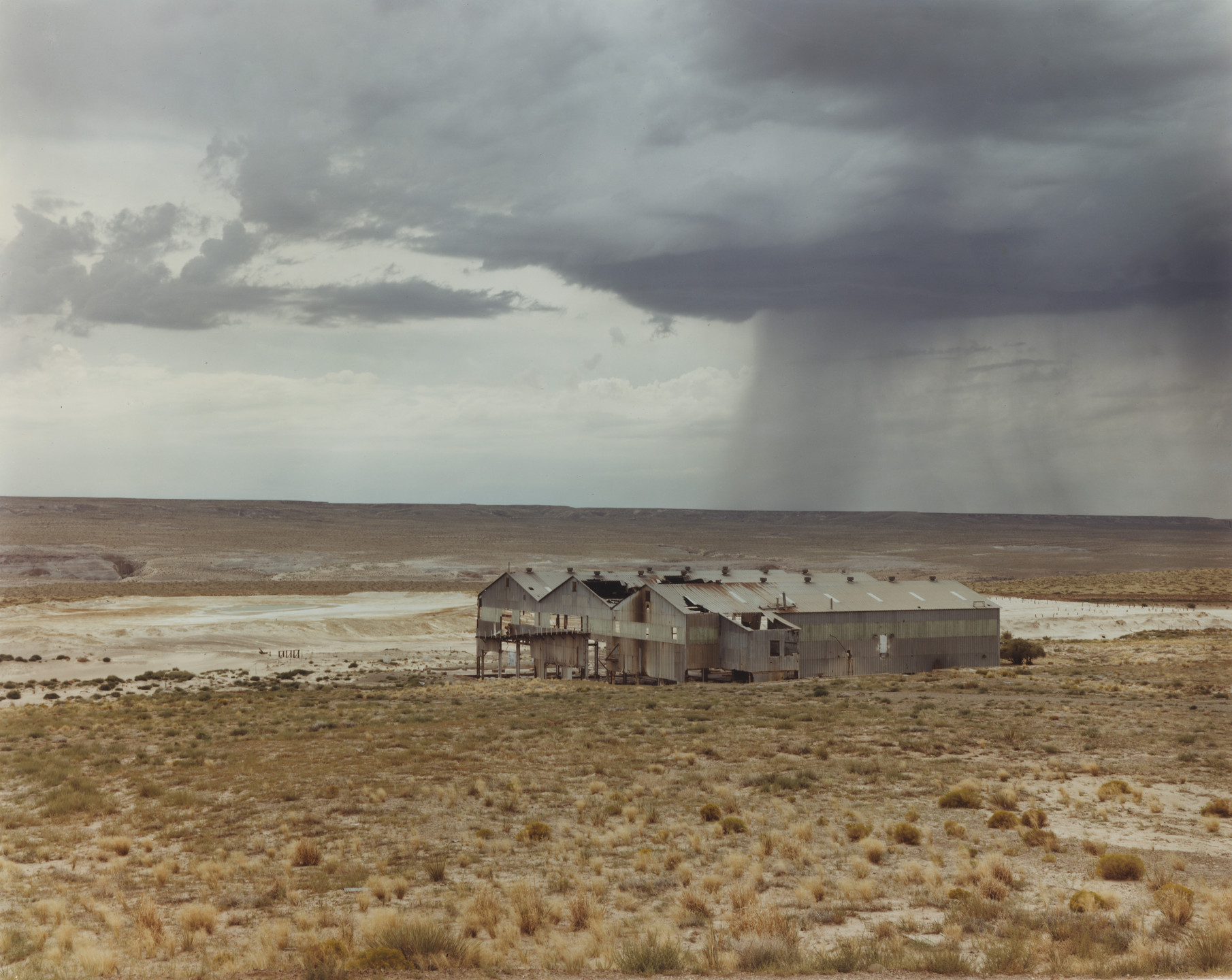 Joel Sternfeld. Abandoned Uranium Refinery near Tuba City, Arizona, Navajo Nation. 1982