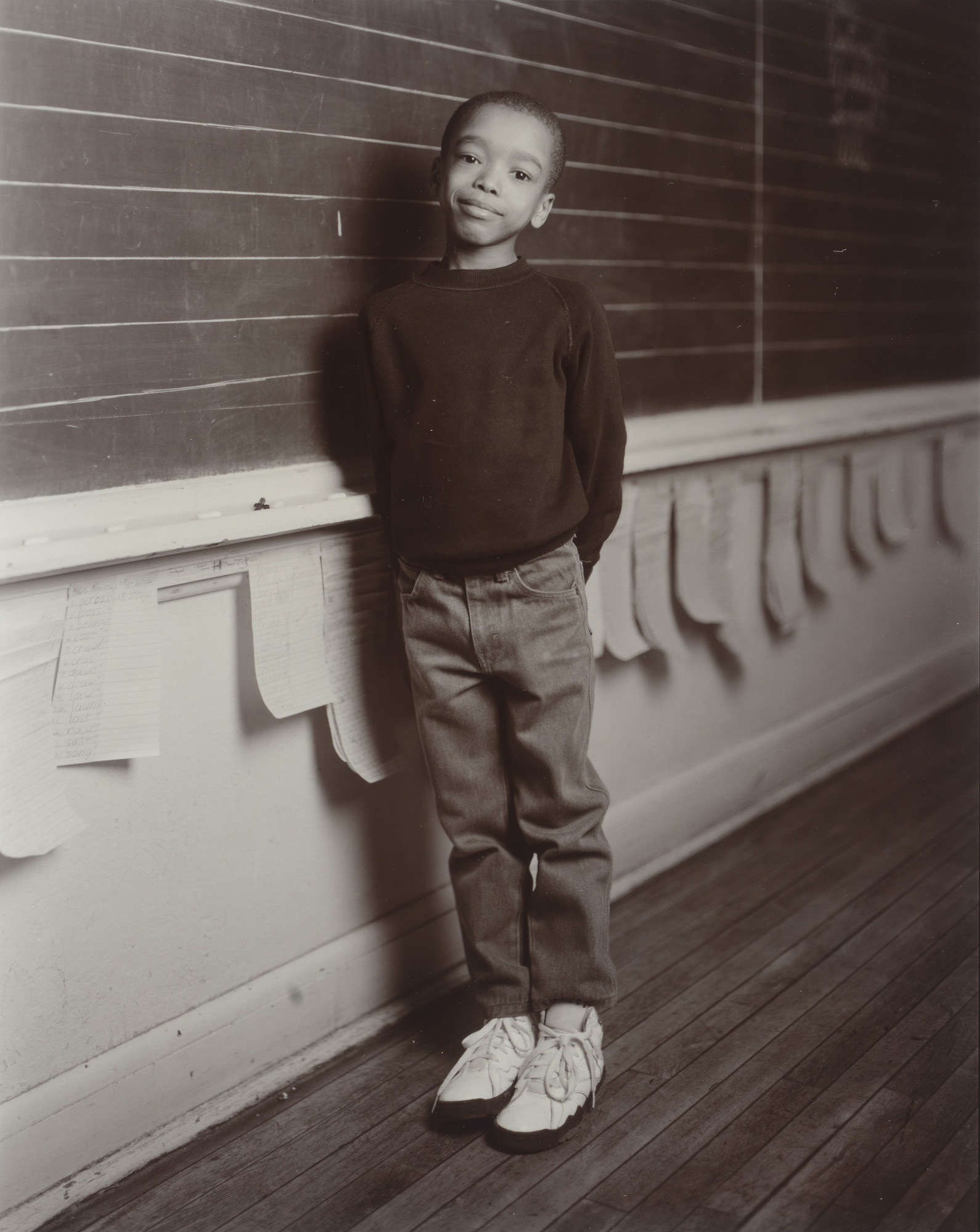 Judith Joy Ross. Brandon Brown, Almira Elementary School, Cleveland, Ohio. 1993