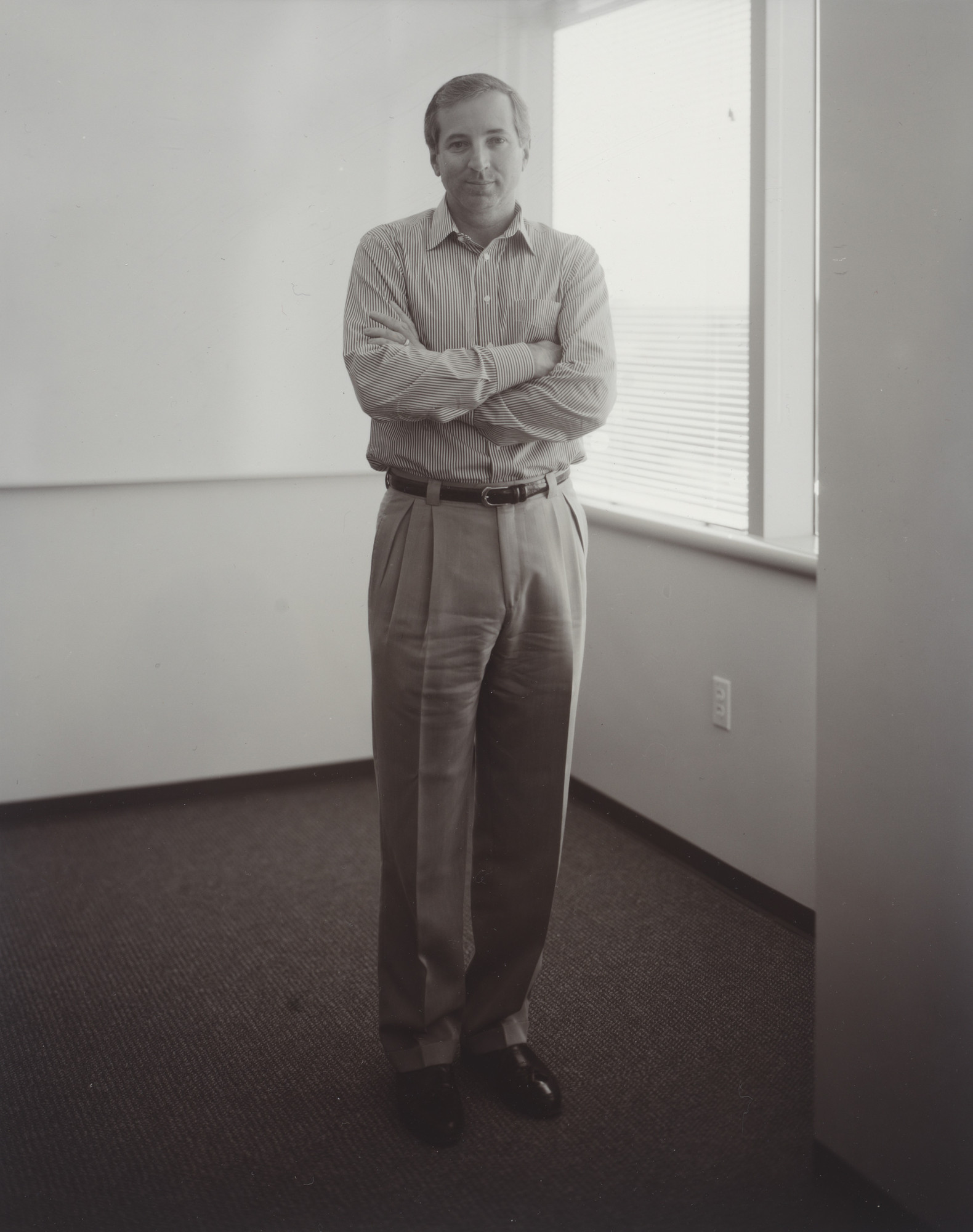 Judith Joy Ross. Scott Kreims, Juniper Systems, Silicon Valley, California. 2000