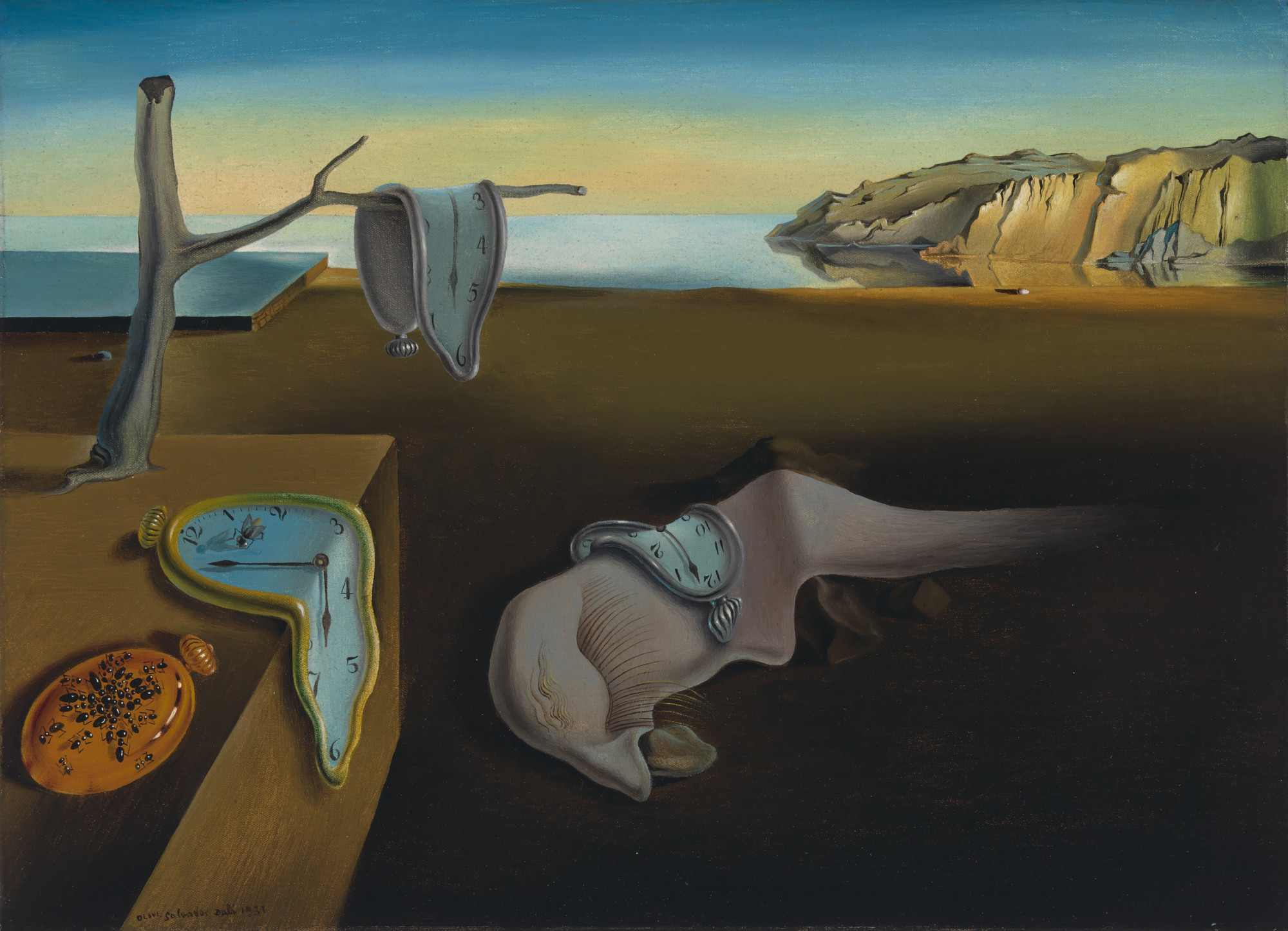 Salvador Dalí  The Persistence of Memory  1931 | MoMA