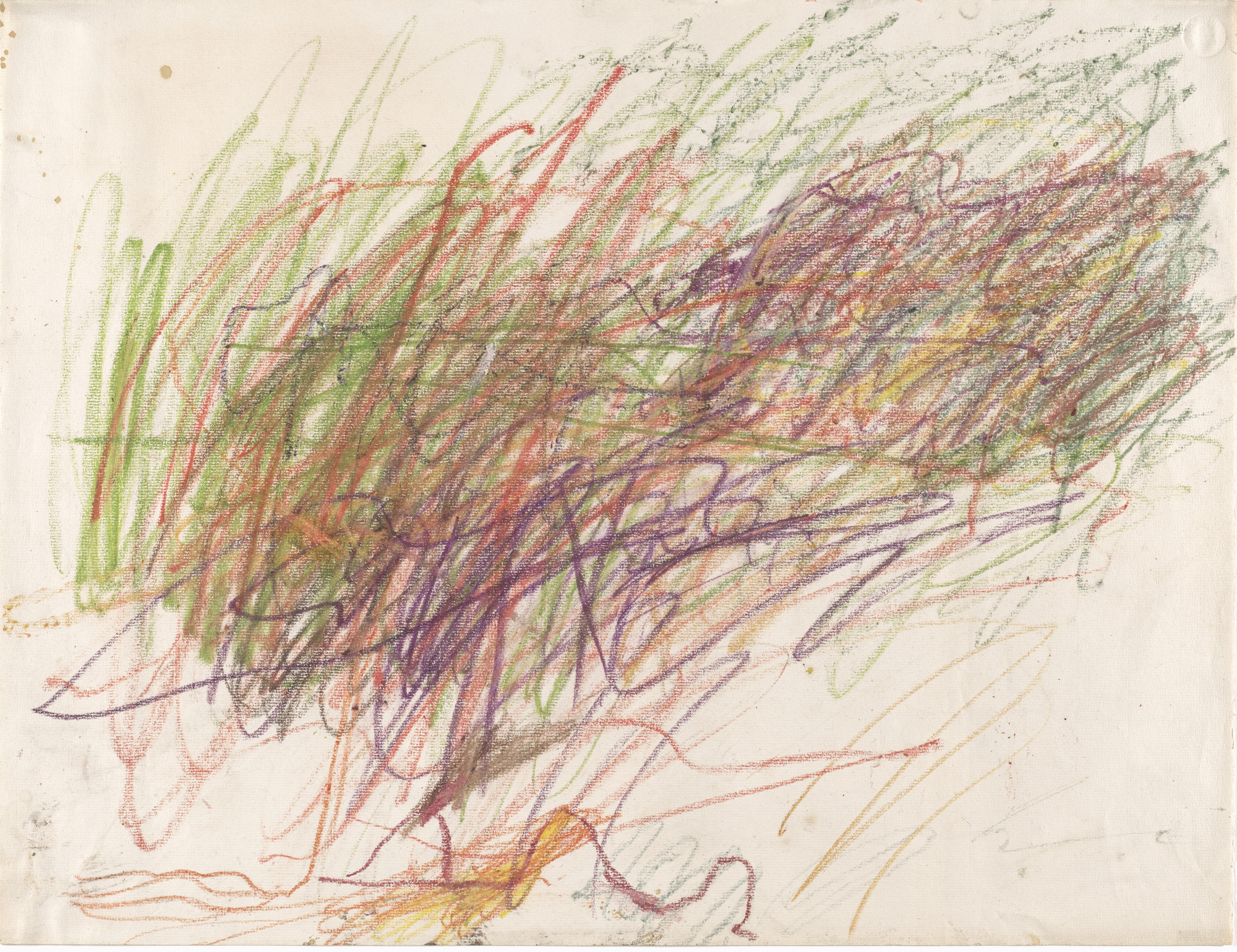 Cy Twombly. Untitled. 1954