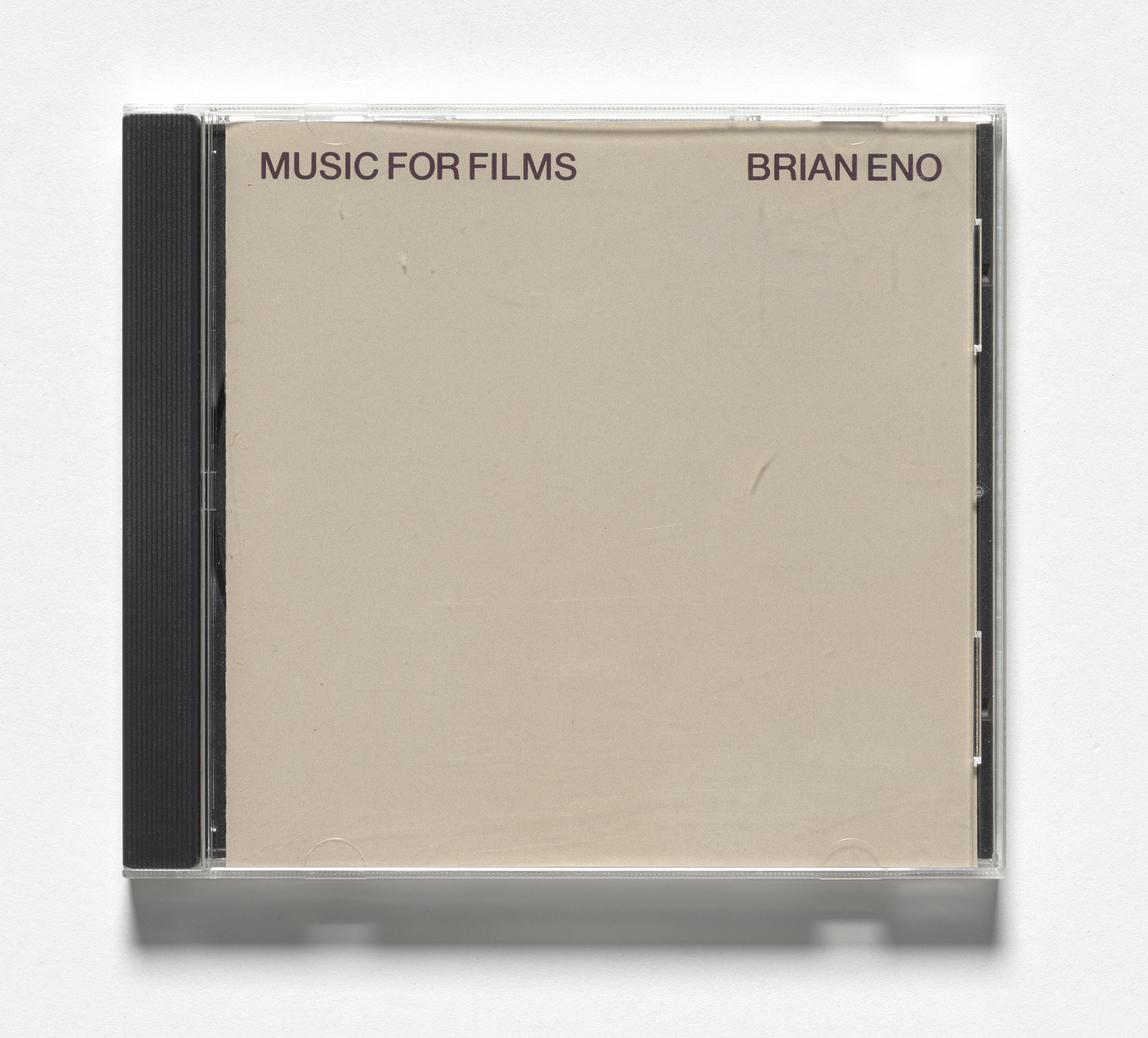 Brian Eno. Music for Films. 1987