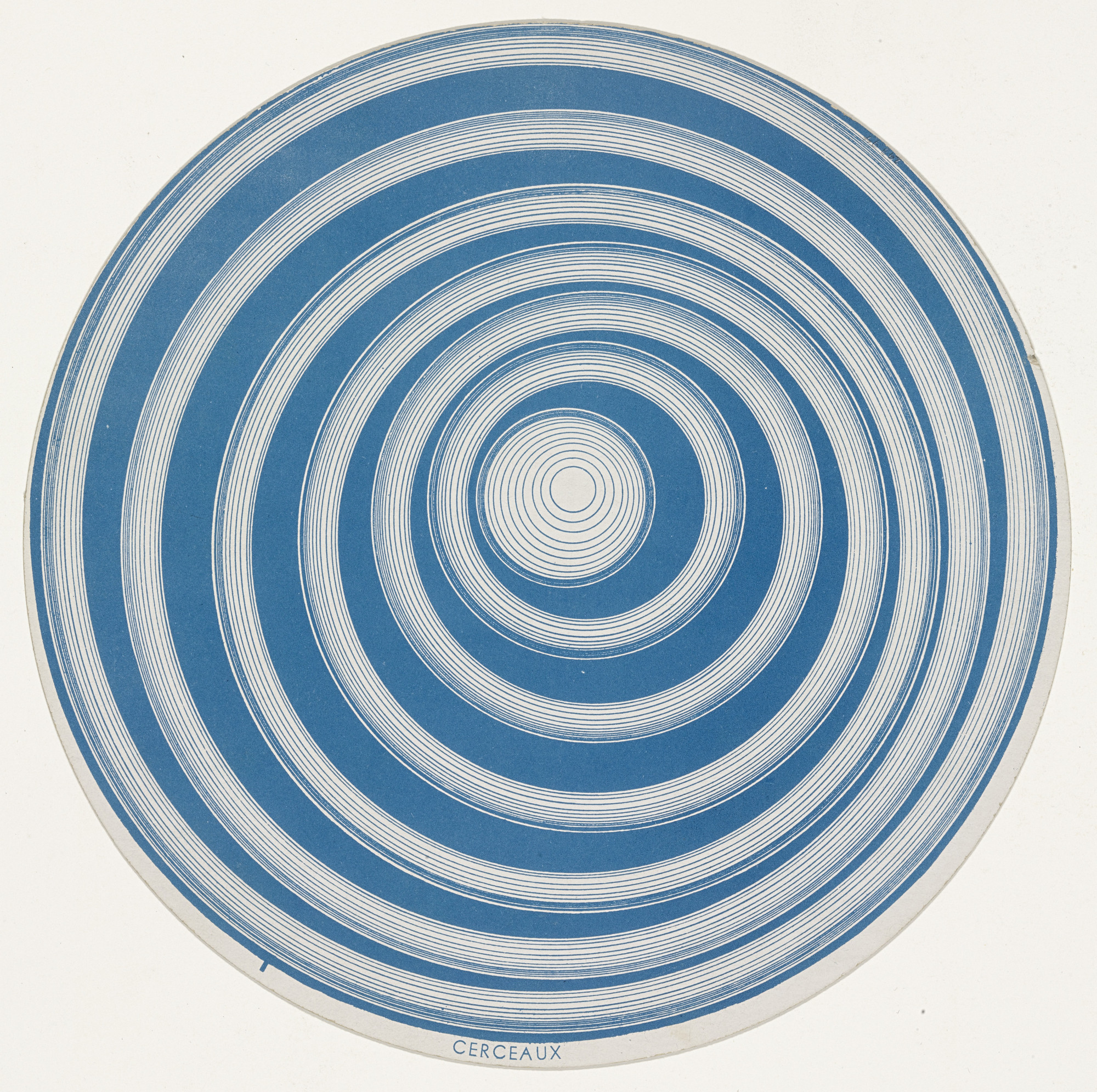 Marcel Duchamp. Rotoreliefs (Optical Disks). 1935, published 1953