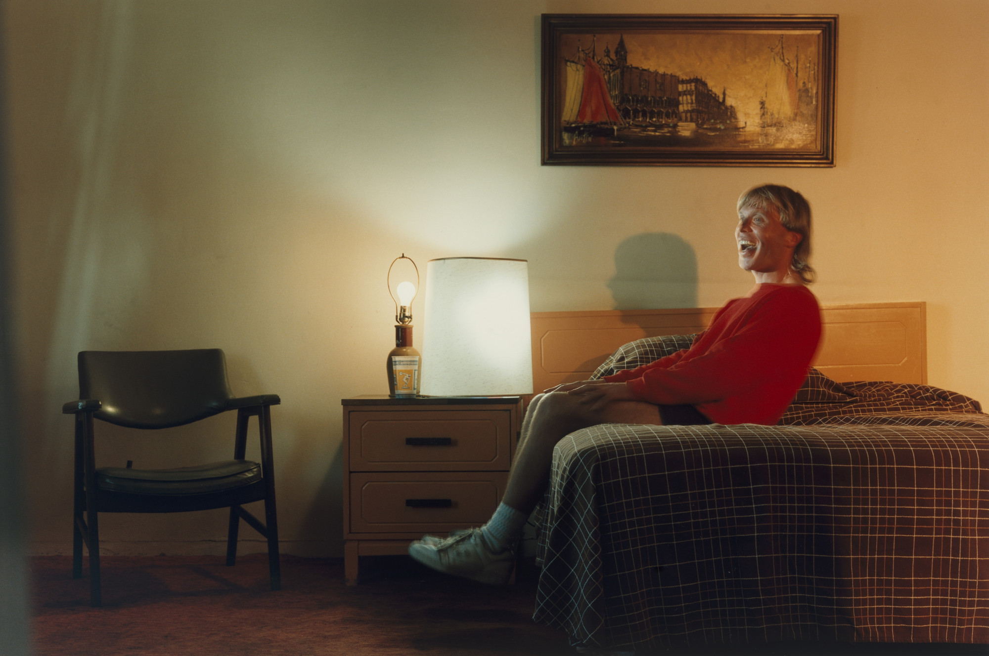 Philip-Lorca diCorcia. Kevin Gordon; 37 years old; Oakland, California; $40. 1990-92