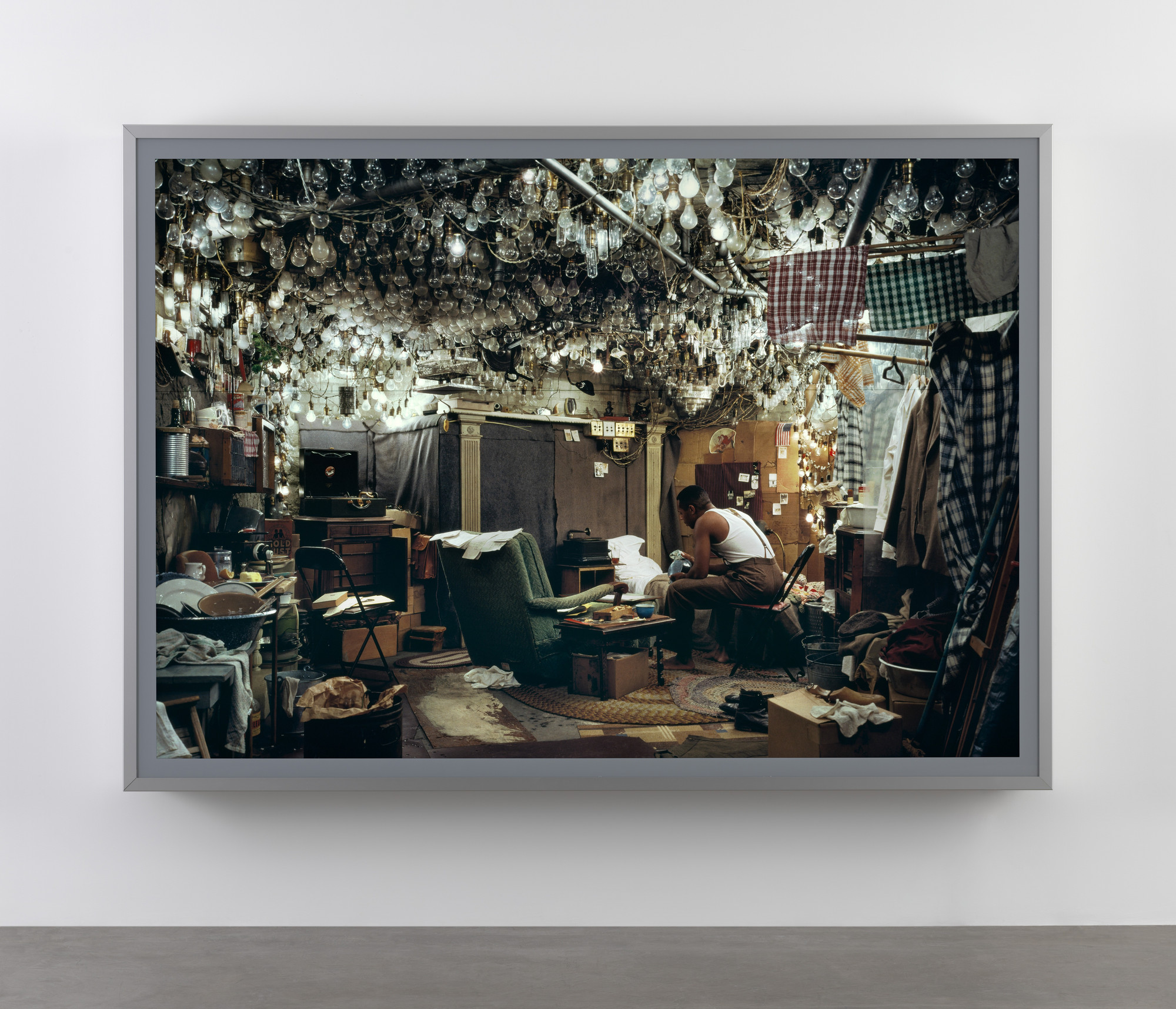 "Jeff Wall. After ""Invisible Man"" by Ralph Ellison, the Prologue. 1999-2000"